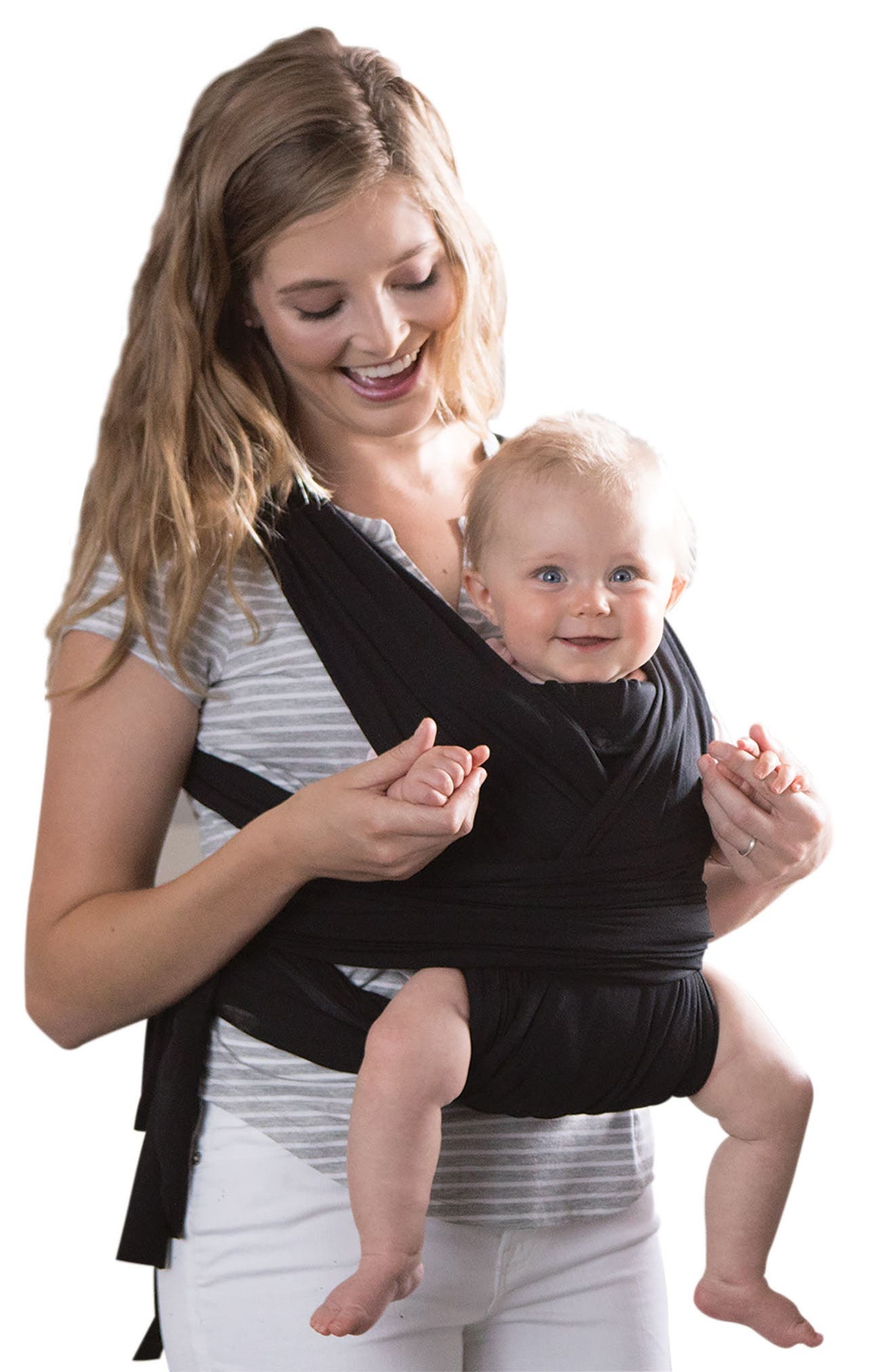 ComfyFit Baby Carrier,                         Main,                         color, BLACK