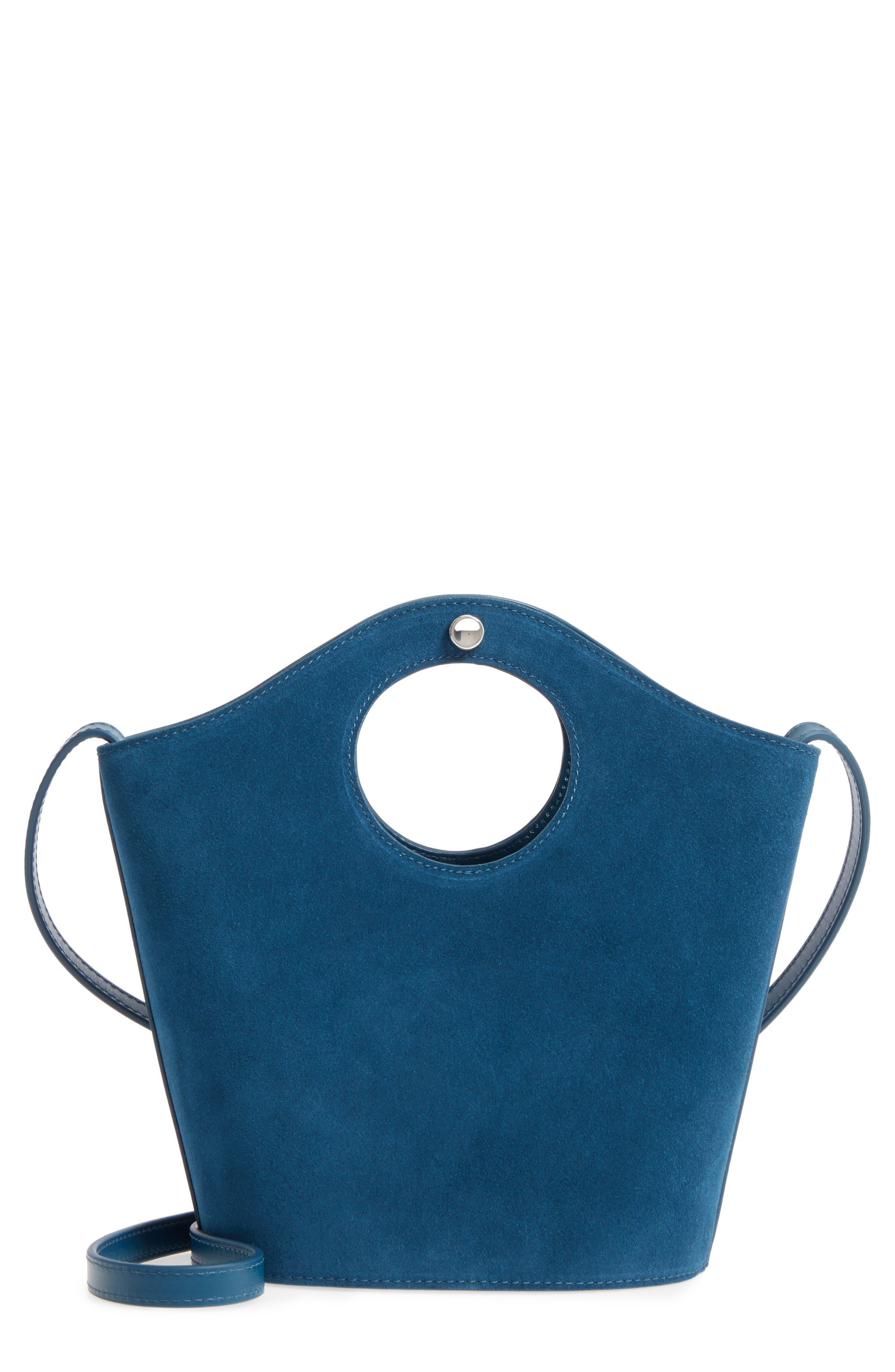 Petite Market Leather Shopper,                         Main,                         color, 400
