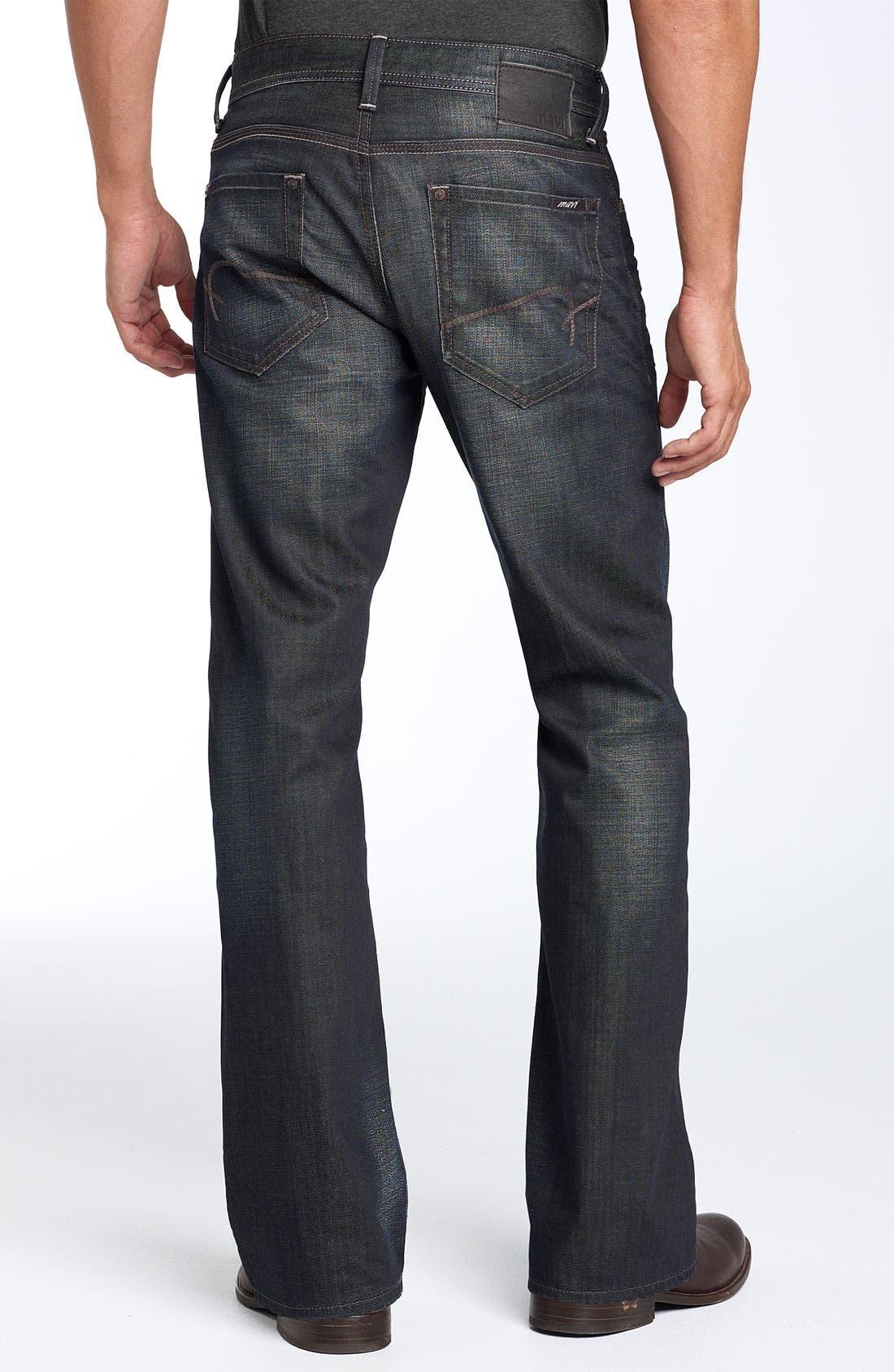 'Leo' Boot-Cut Jeans, Main, color, 400