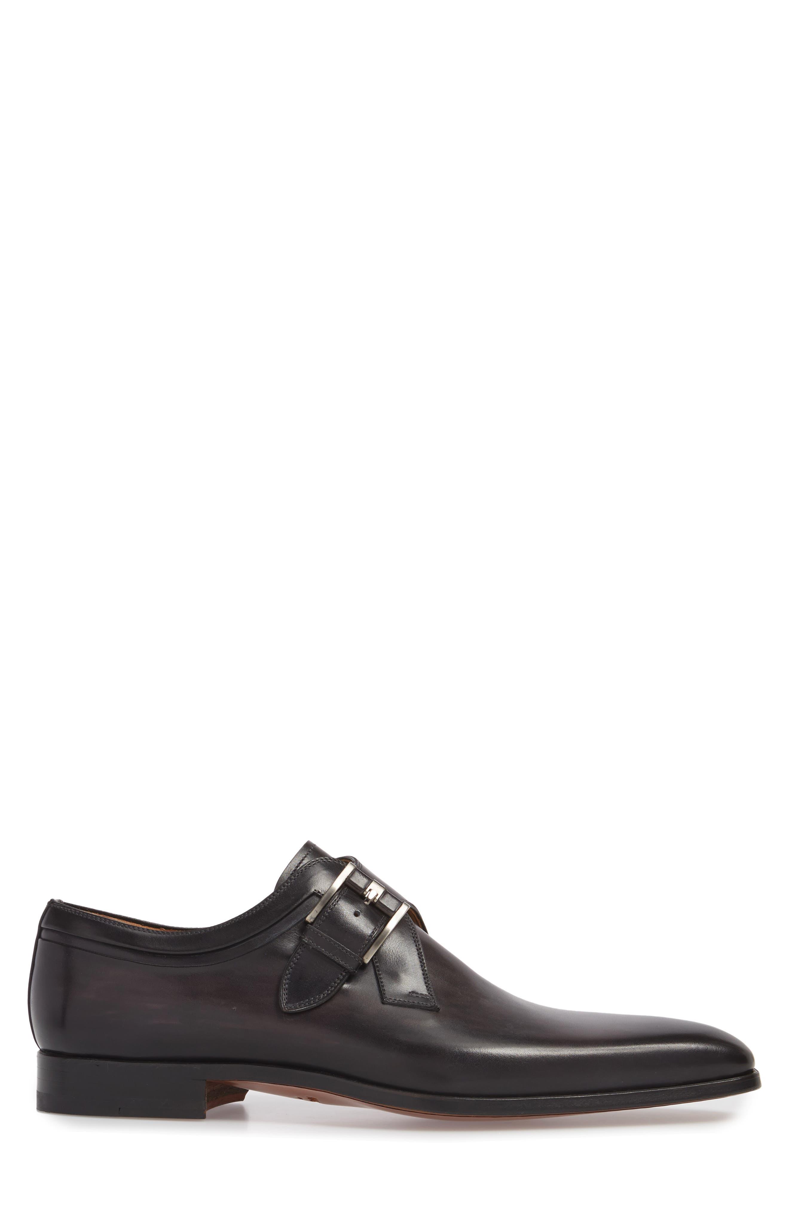Toma Single Buckle Monk Shoe,                             Alternate thumbnail 3, color,                             020