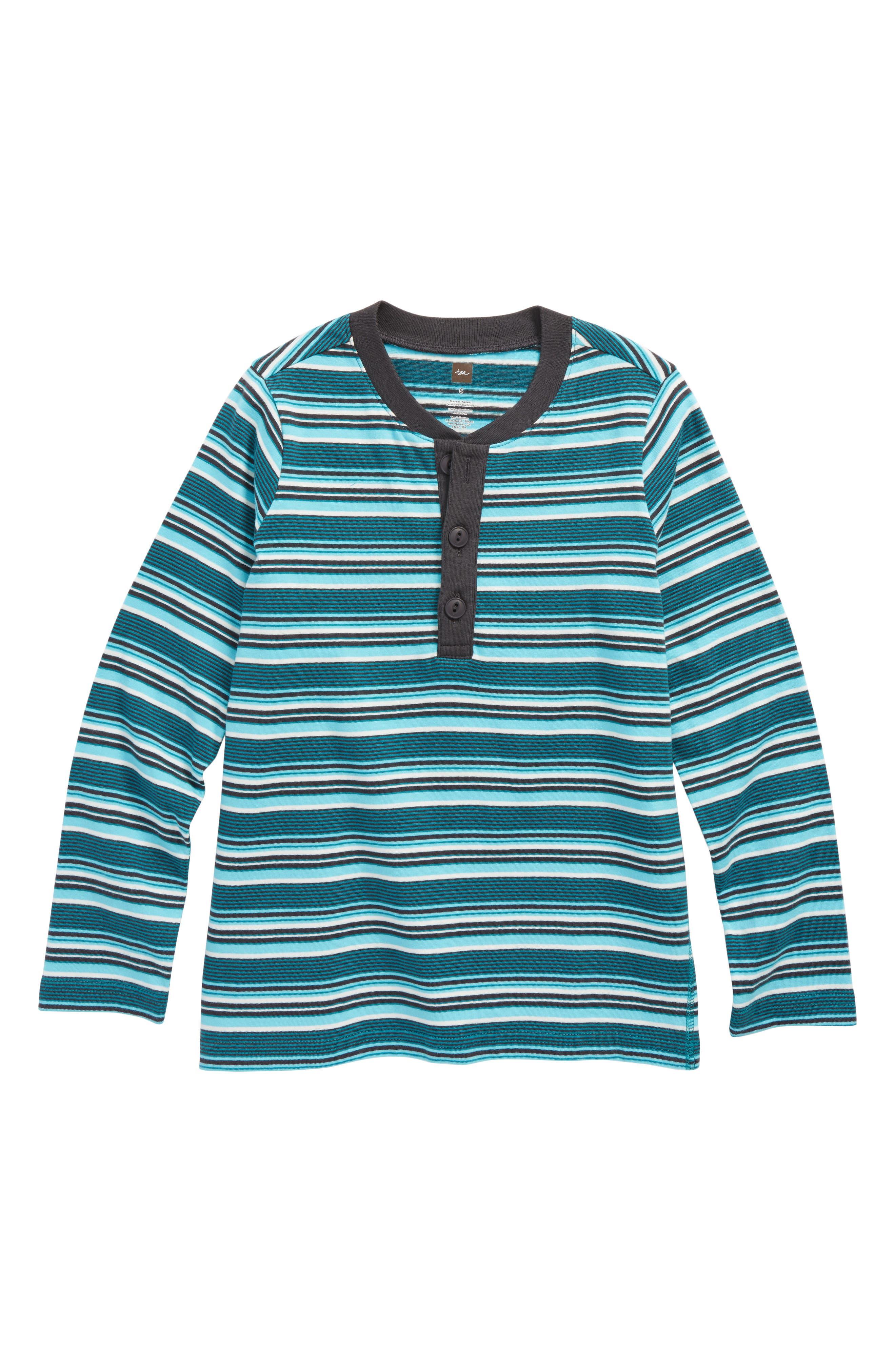 Ugie Stripe Henley T-Shirt,                             Main thumbnail 1, color,                             327