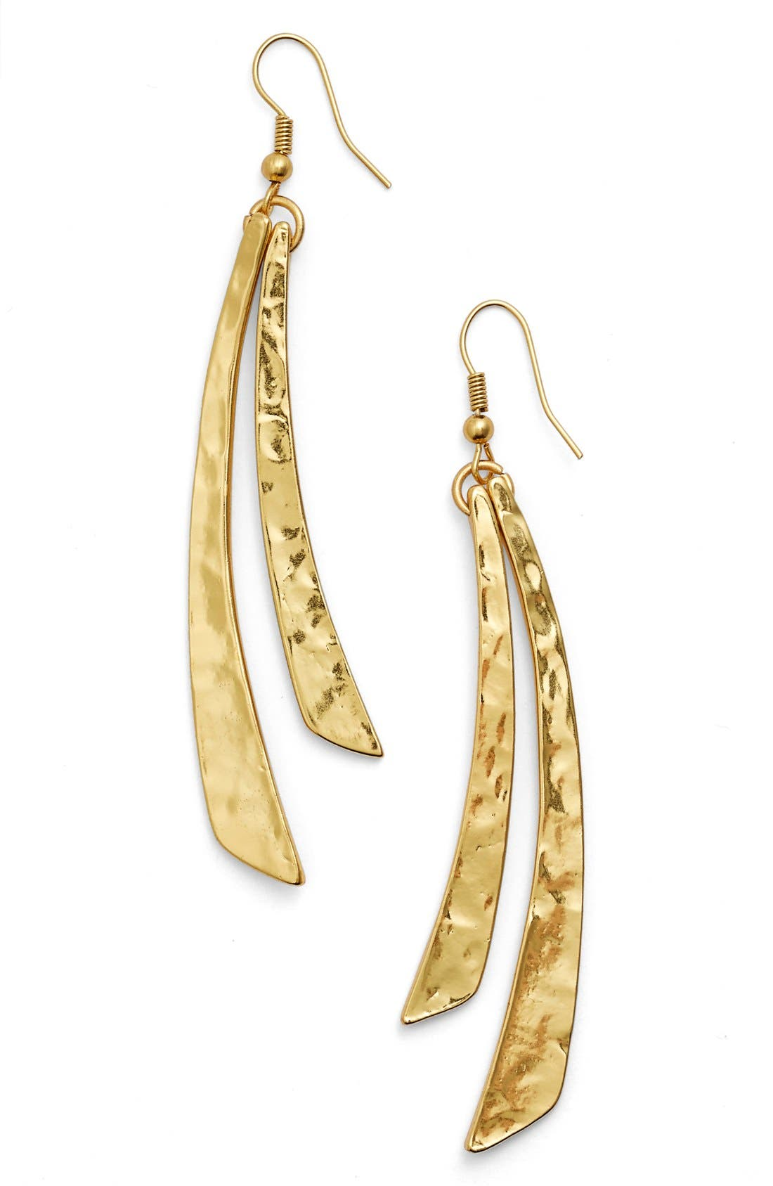 'Two Stick' Drop Earrings,                         Main,                         color, GOLD