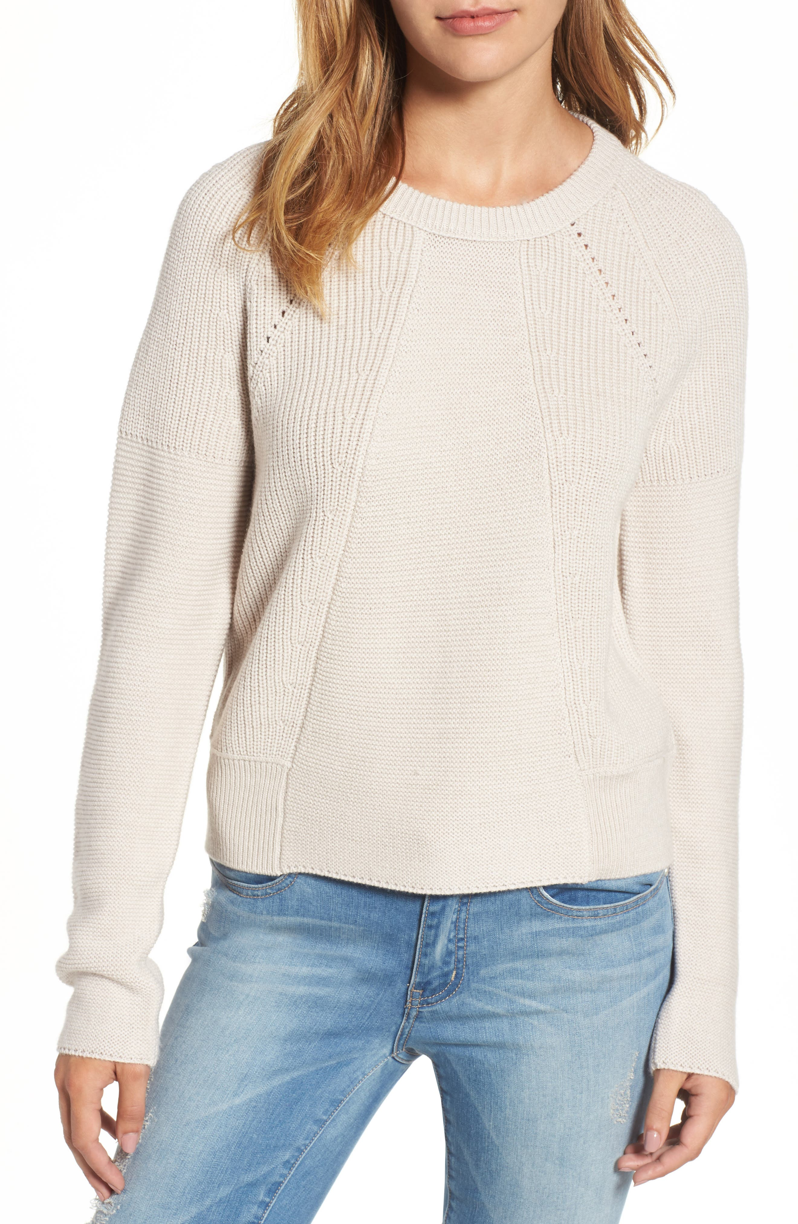 Engineered Stitch Sweater,                         Main,                         color, 251