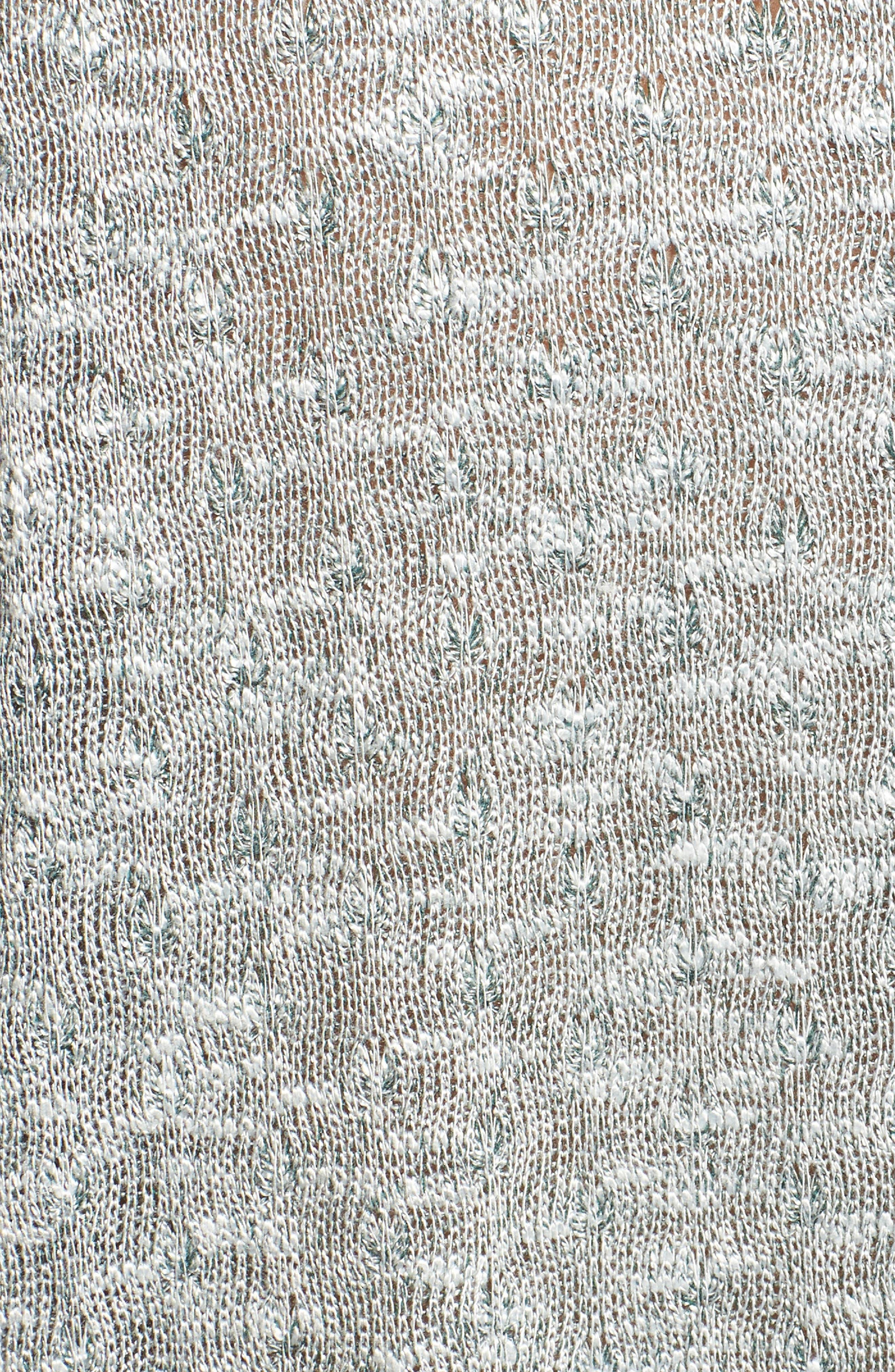 Marled Knit Short Sleeve Top,                             Alternate thumbnail 6, color,