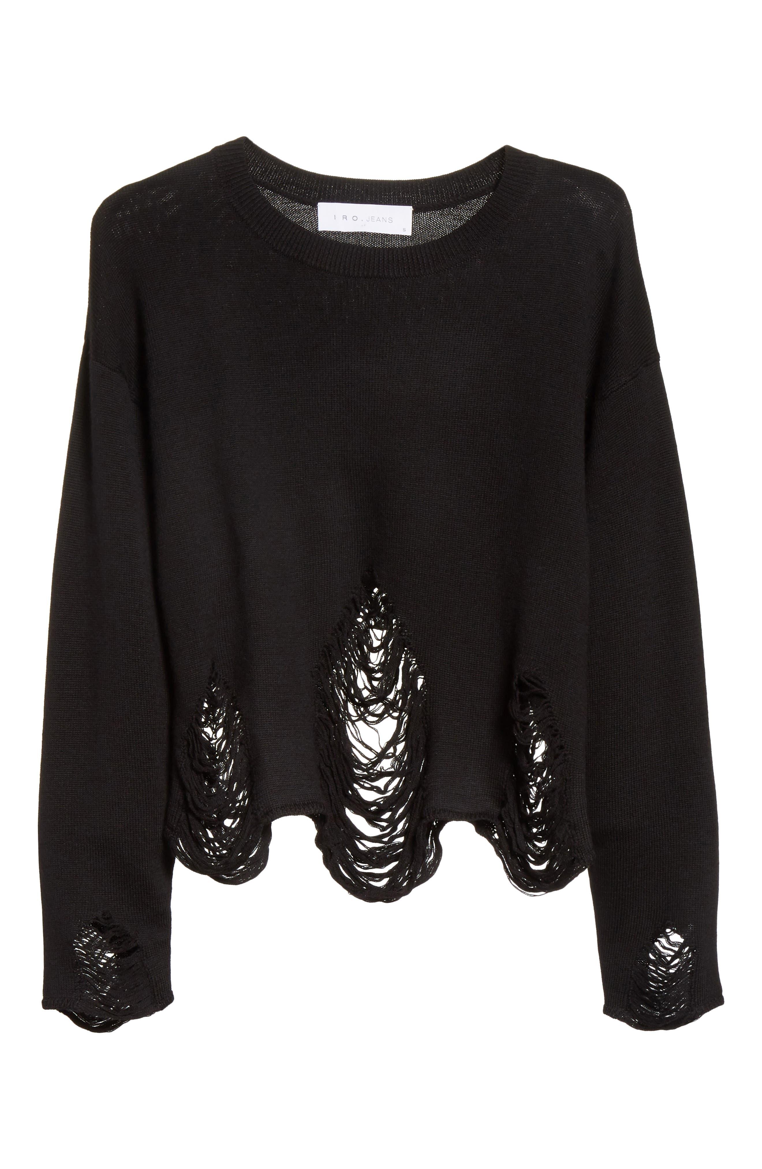 Parola Sweater,                             Alternate thumbnail 6, color,                             001