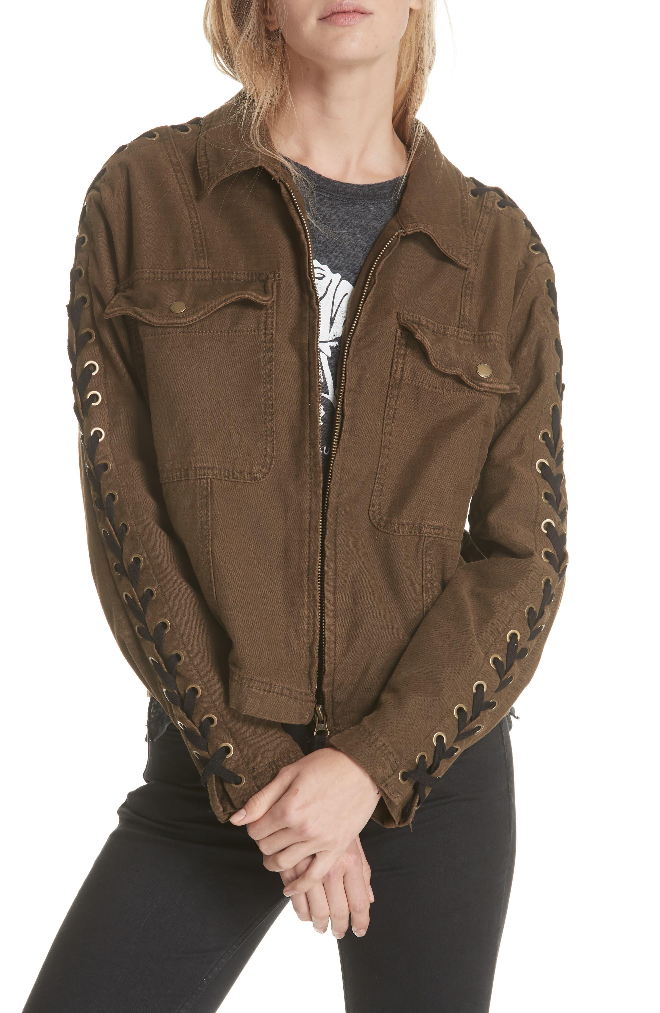 Faye Military Jacket,                             Main thumbnail 2, color,
