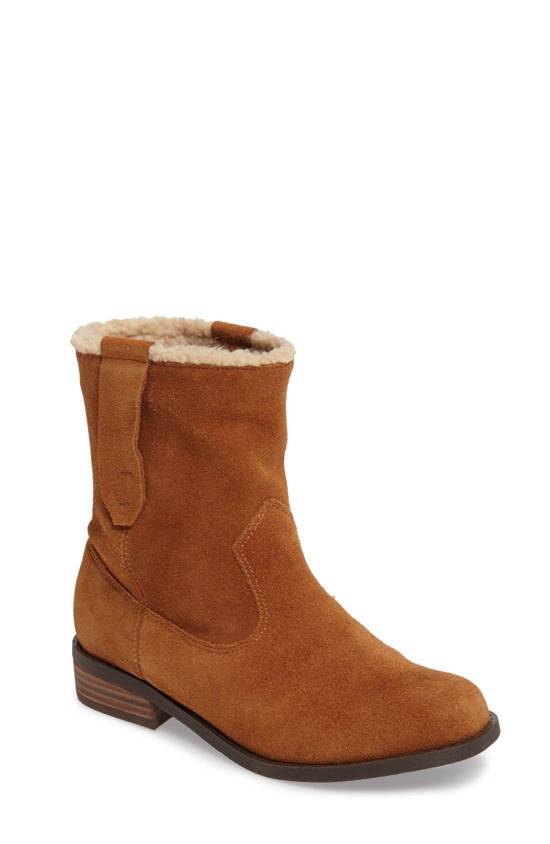 Verona Faux Shearling Boot,                             Main thumbnail 4, color,