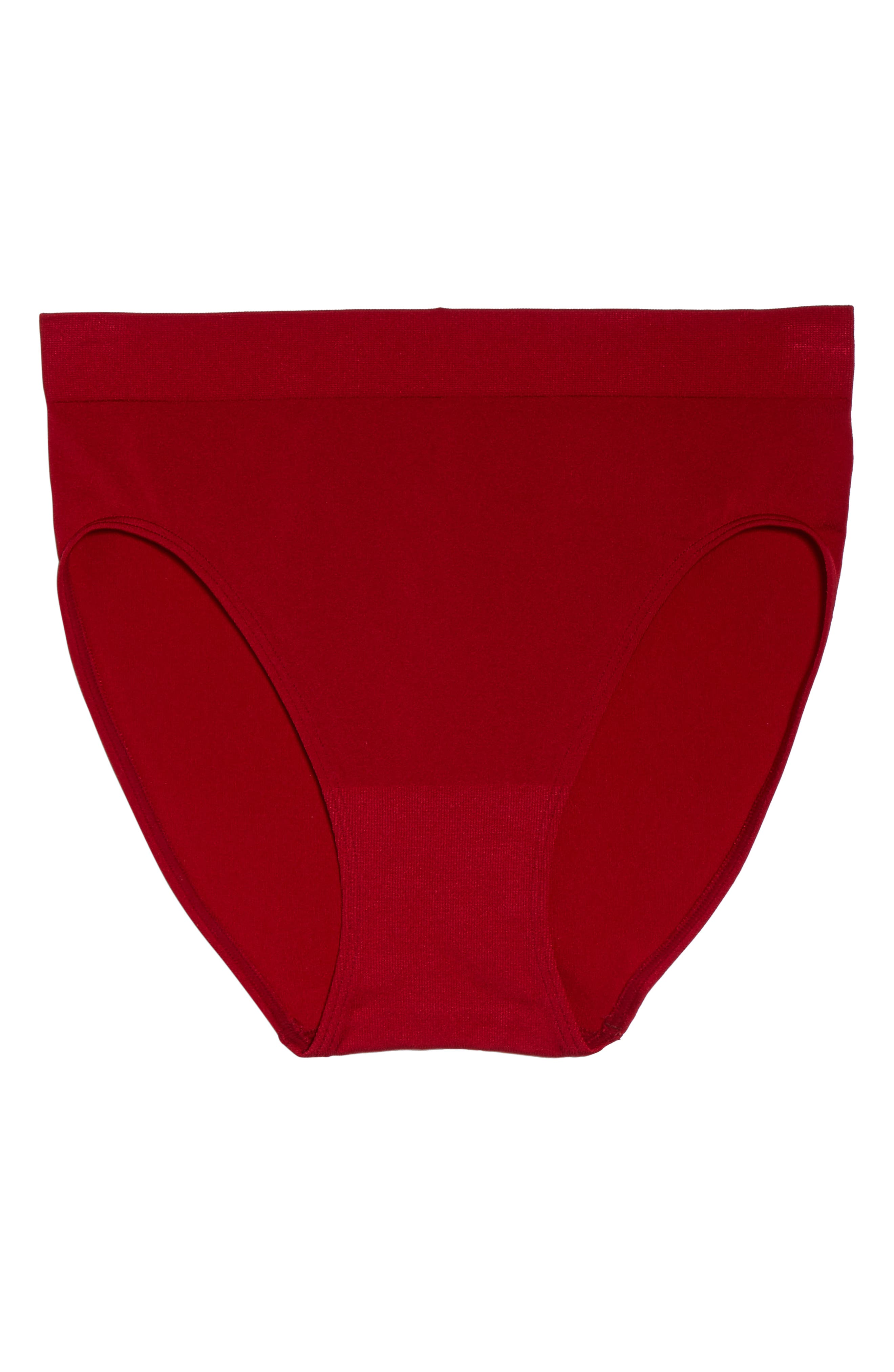 B Smooth High Cut Briefs,                             Alternate thumbnail 6, color,                             JESTER RED