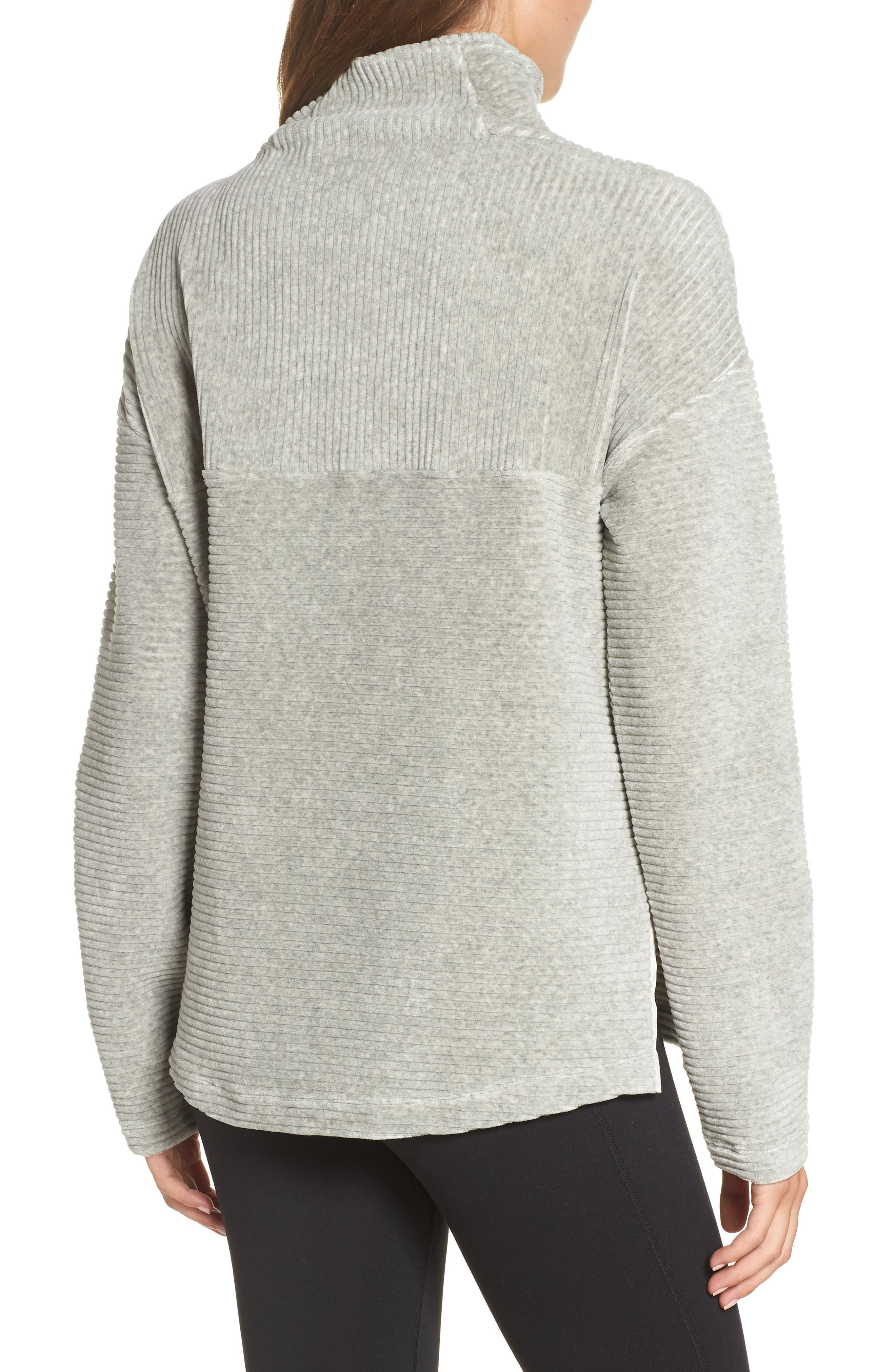 Bright Side Pullover,                             Alternate thumbnail 2, color,                             GREY CRYSTAL