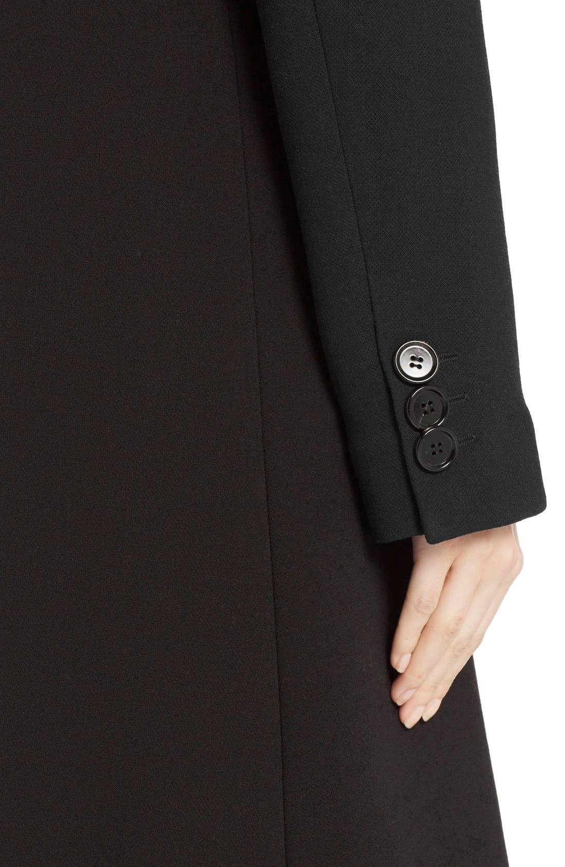 Wool Coat,                             Alternate thumbnail 5, color,                             001