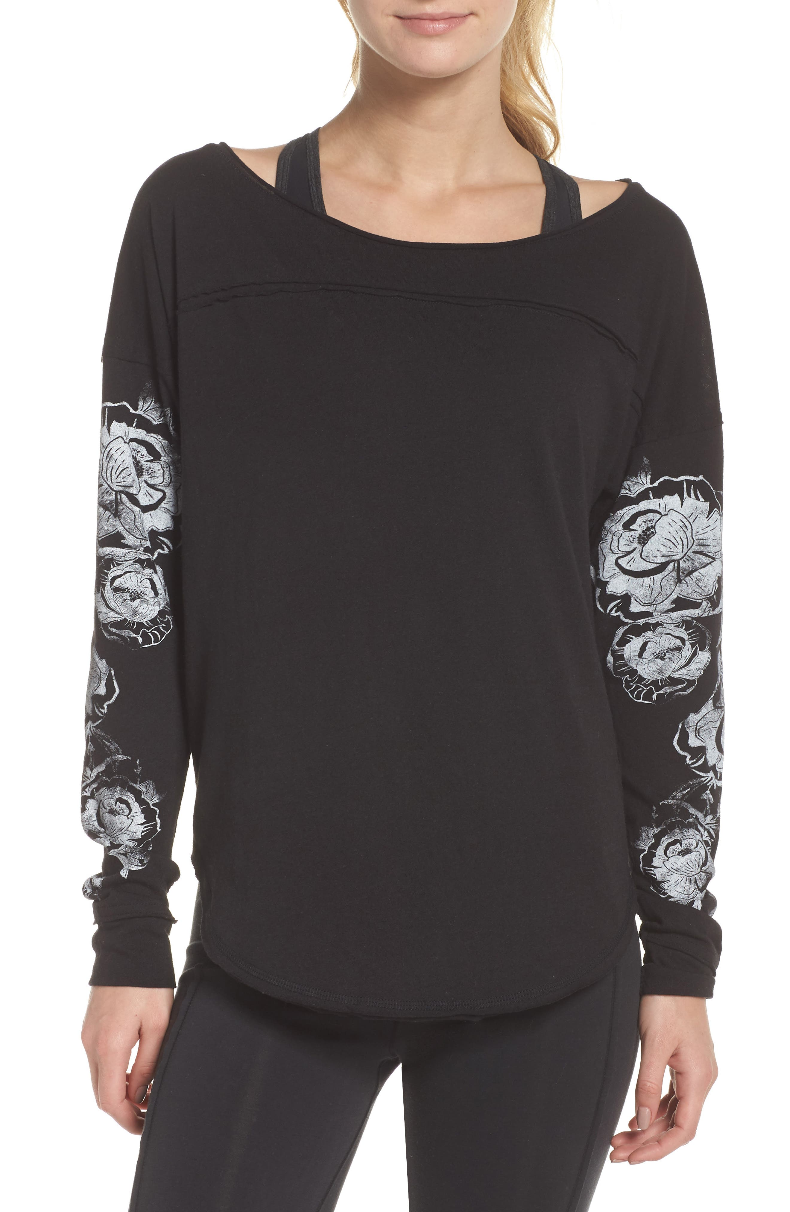 Dance Graphic Tee,                         Main,                         color, 001