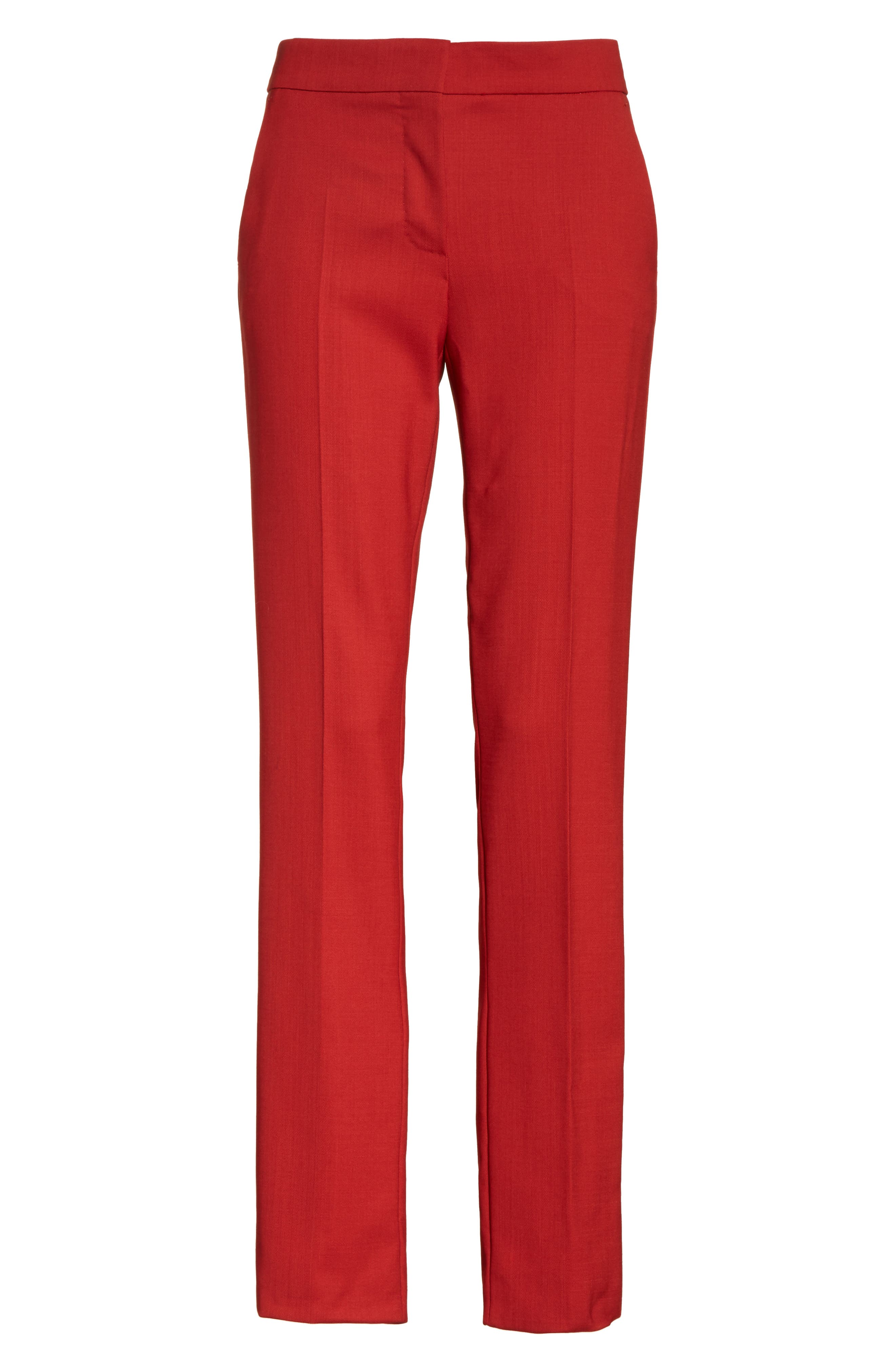 Oscuro Stretch Wool Pants,                             Alternate thumbnail 6, color,                             614