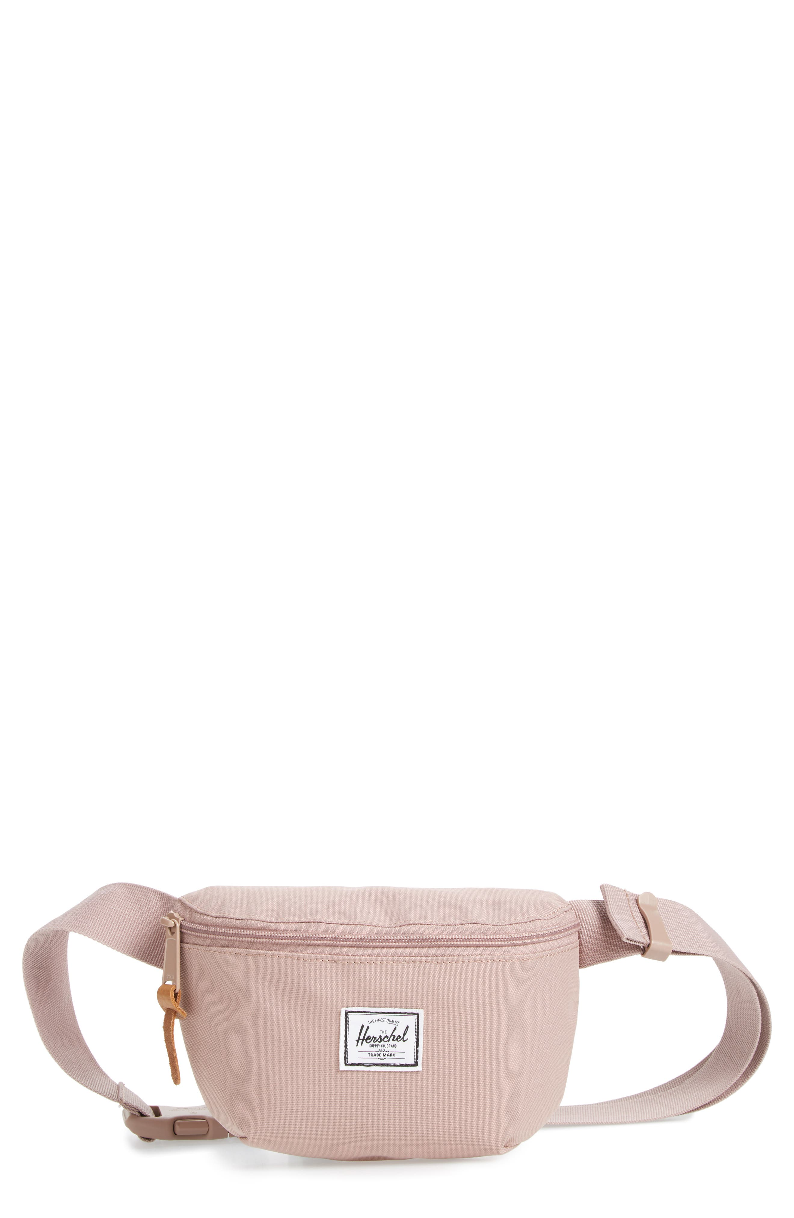 Fourteen Belt Bag,                             Main thumbnail 1, color,                             ASH ROSE