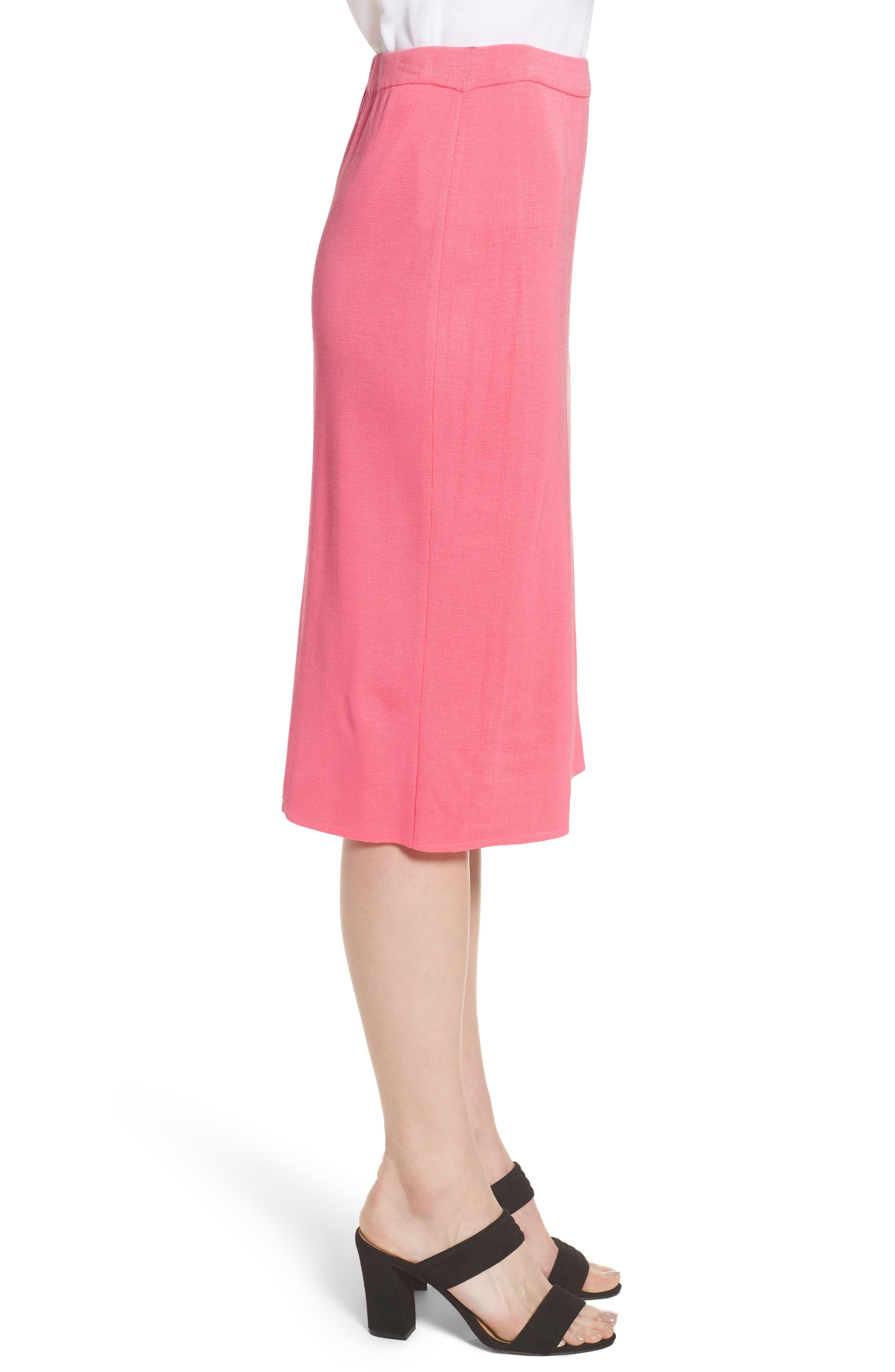 Straight Skirt,                             Alternate thumbnail 3, color,                             PINK LEMONADE