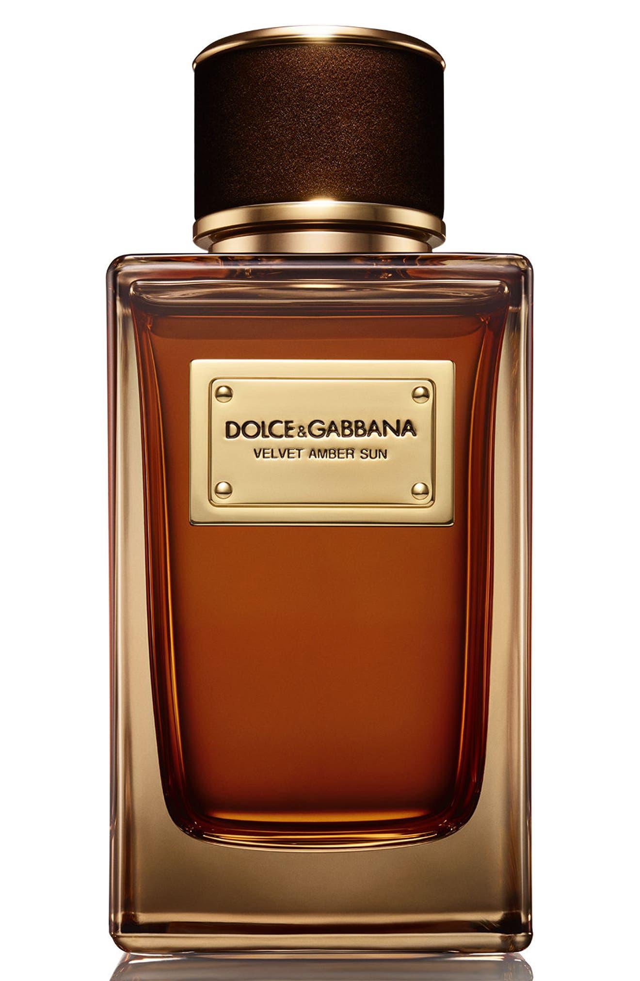Dolce&Gabbana Velvet Amber Sun Eau de Parfum,                             Main thumbnail 1, color,                             NO COLOR