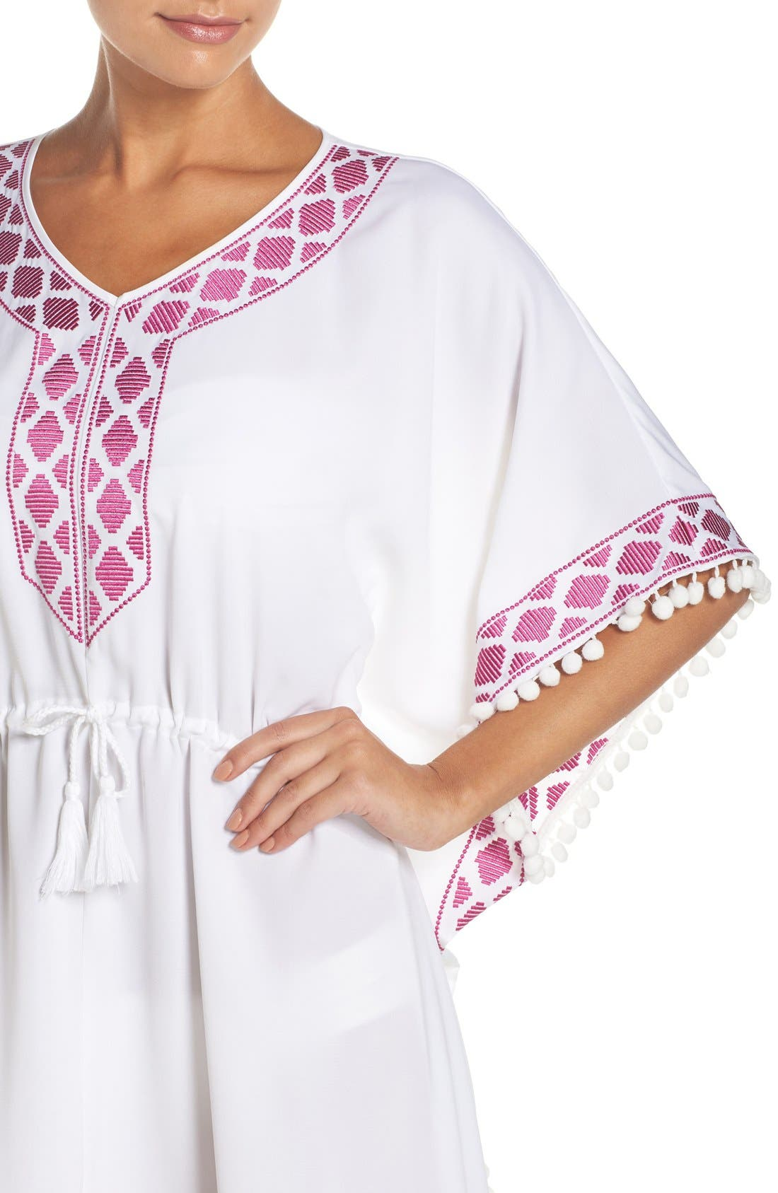 UPF 50 Tunic Cover-Up,                             Alternate thumbnail 10, color,
