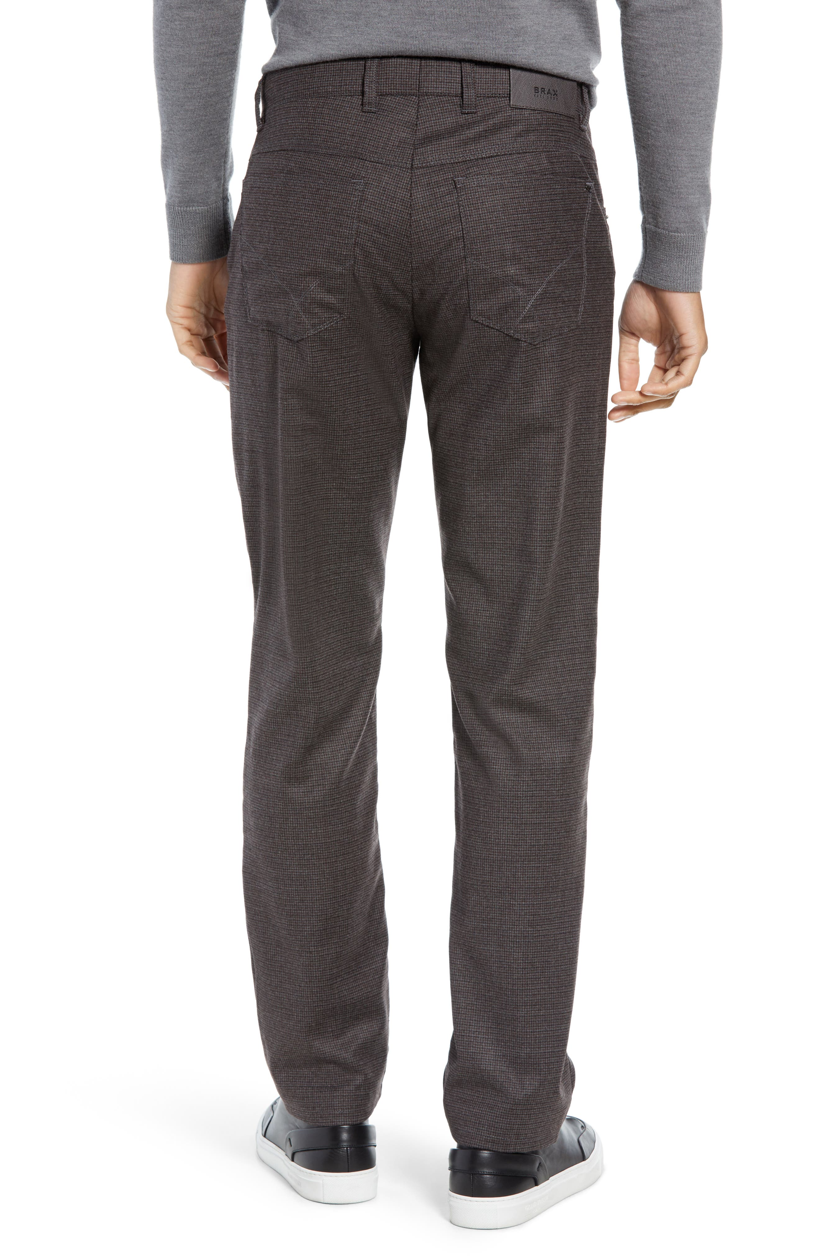 Cadiz Five Pocket Stretch Wool Trousers,                             Alternate thumbnail 2, color,                             ANTHRACITE