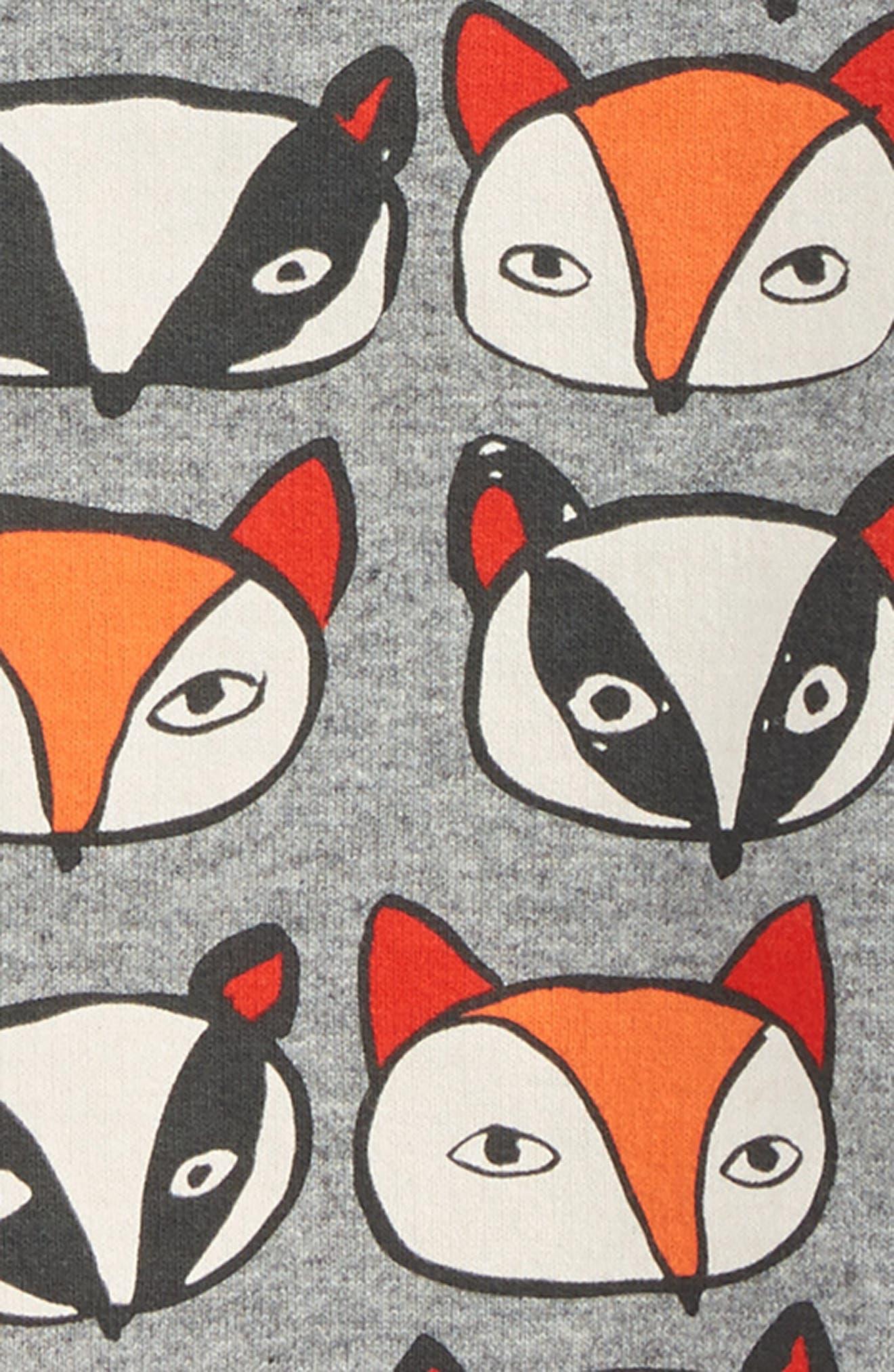 Fox & Badger Print Sweater,                             Alternate thumbnail 2, color,                             035