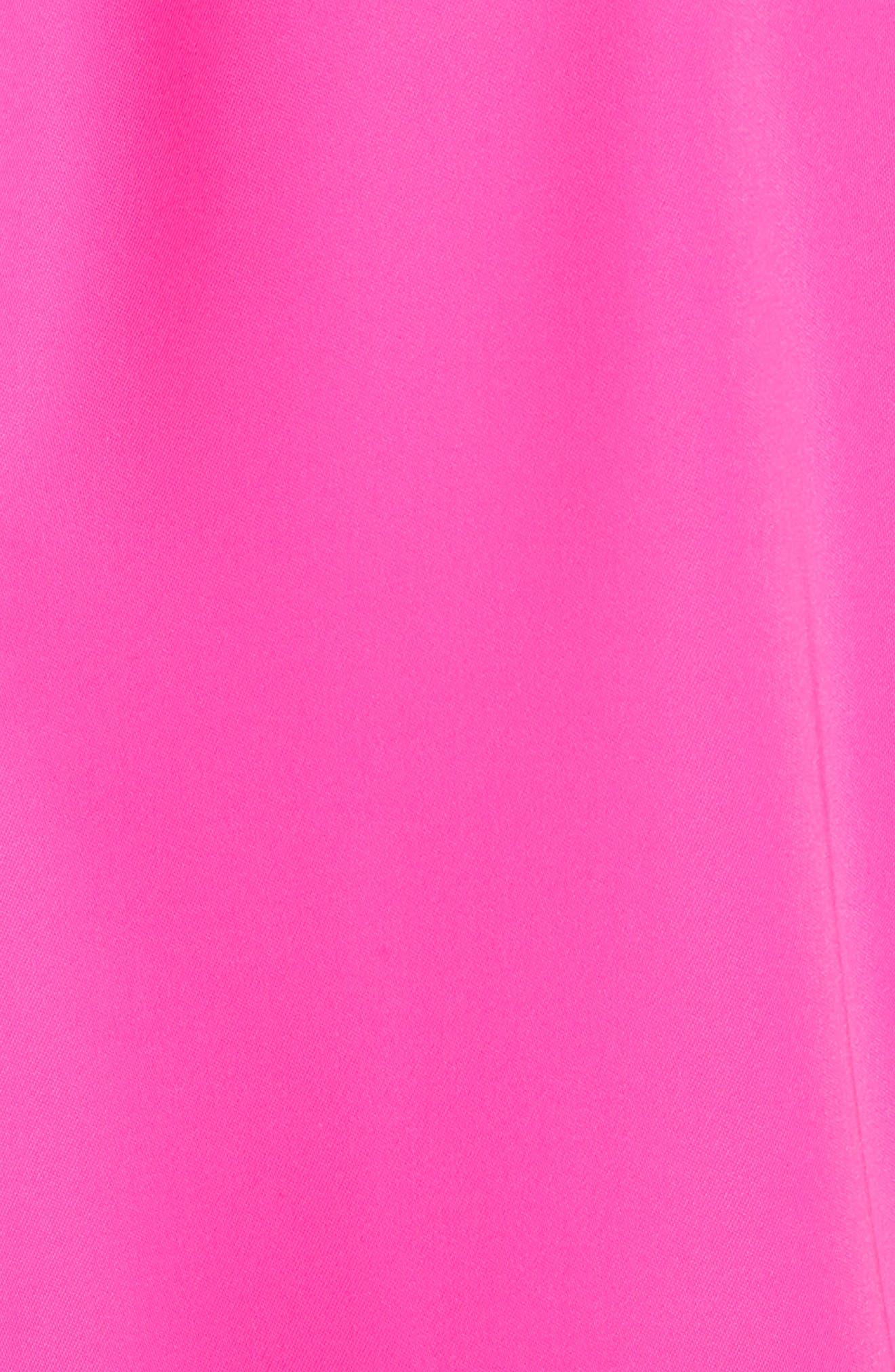 Oversize Drape Front Dress,                             Alternate thumbnail 10, color,