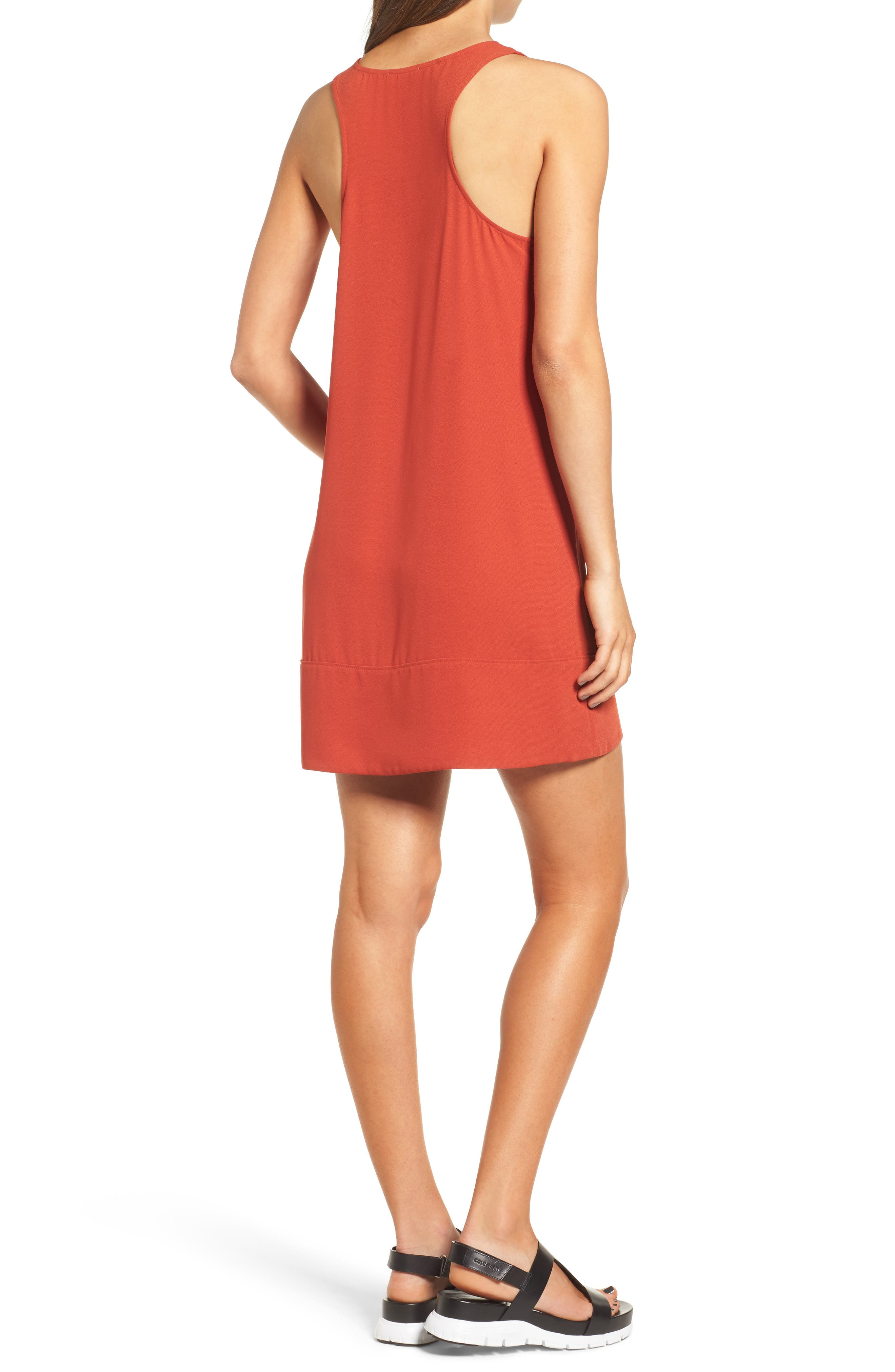 Racerback Shift Dress,                             Alternate thumbnail 76, color,
