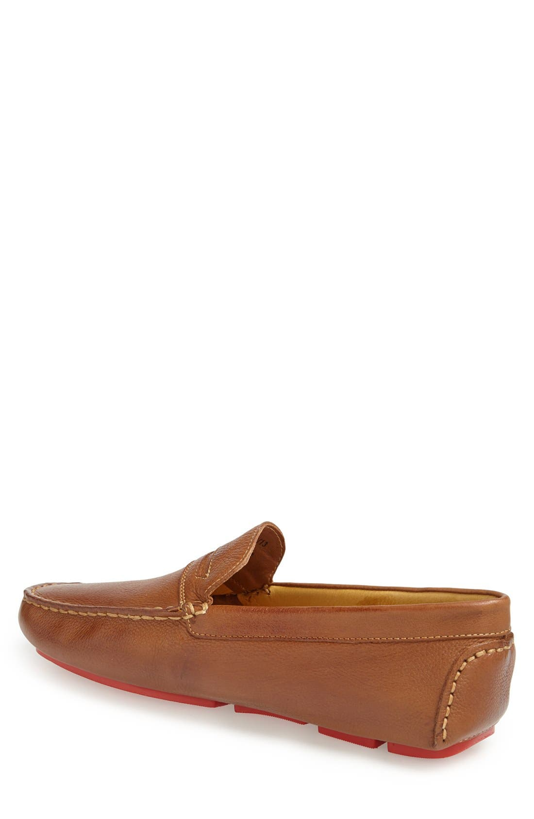'Santee' Driving Shoe,                             Alternate thumbnail 3, color,                             COGNAC