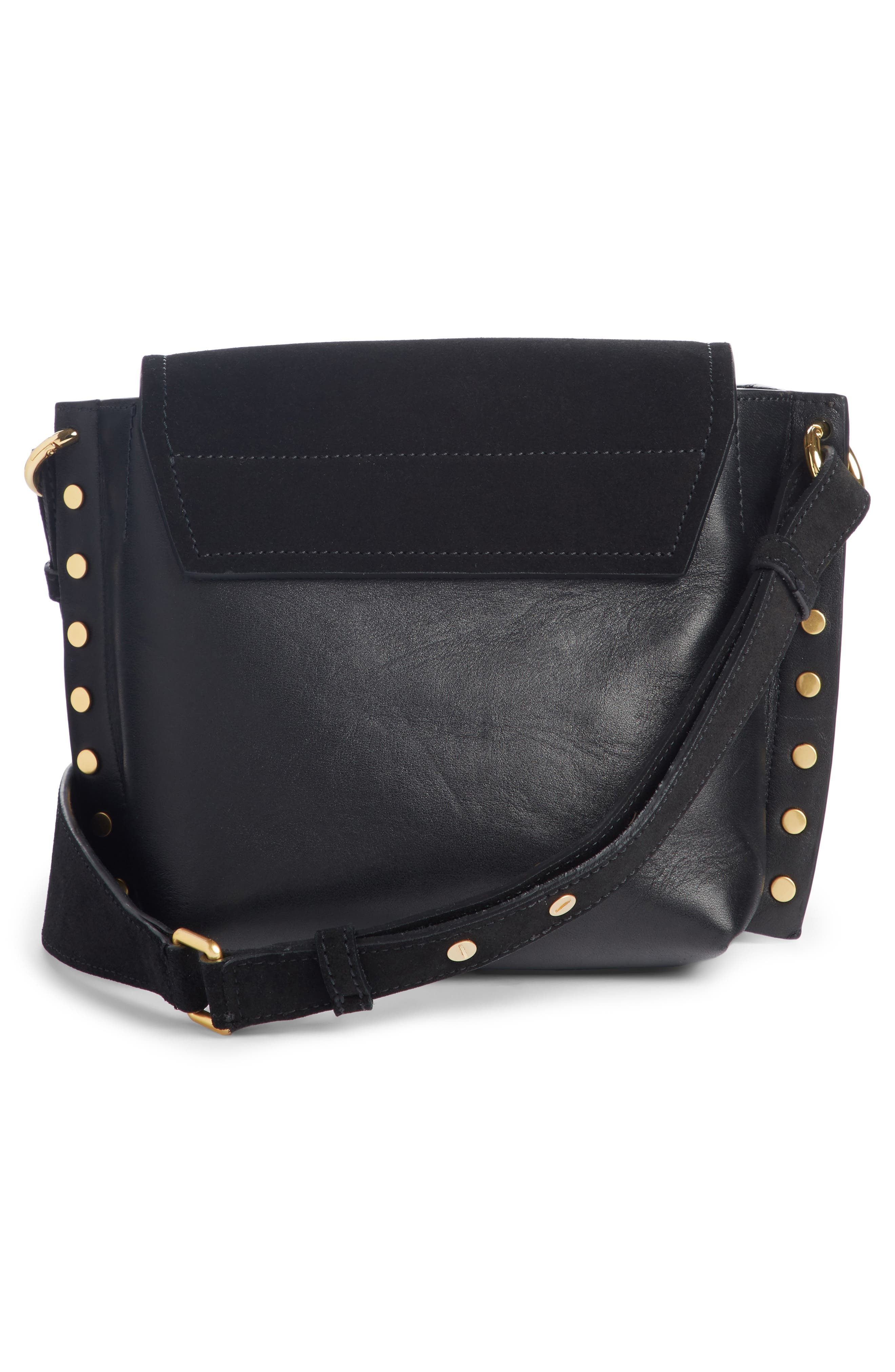 Kleny Leather Shoulder Bag,                             Alternate thumbnail 2, color,                             001