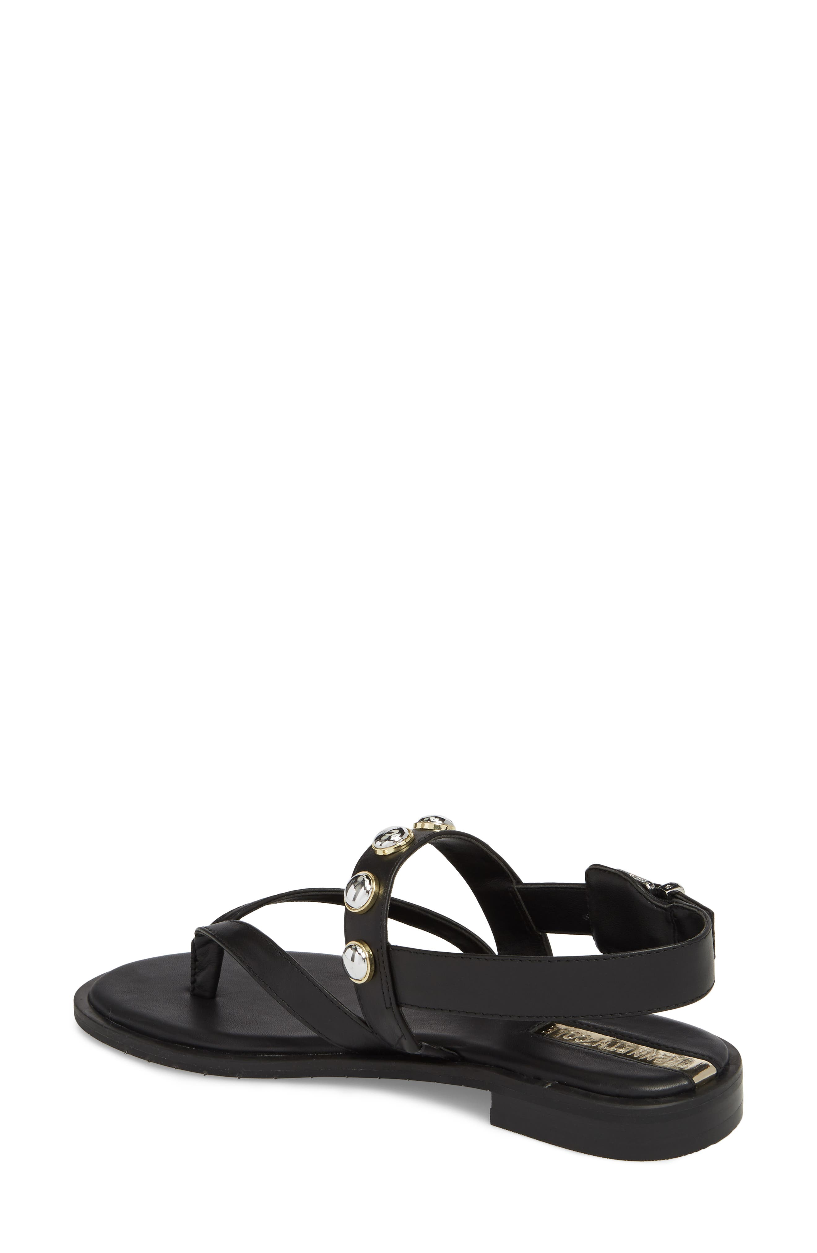 Tama Studded Sandal,                             Alternate thumbnail 2, color,                             001