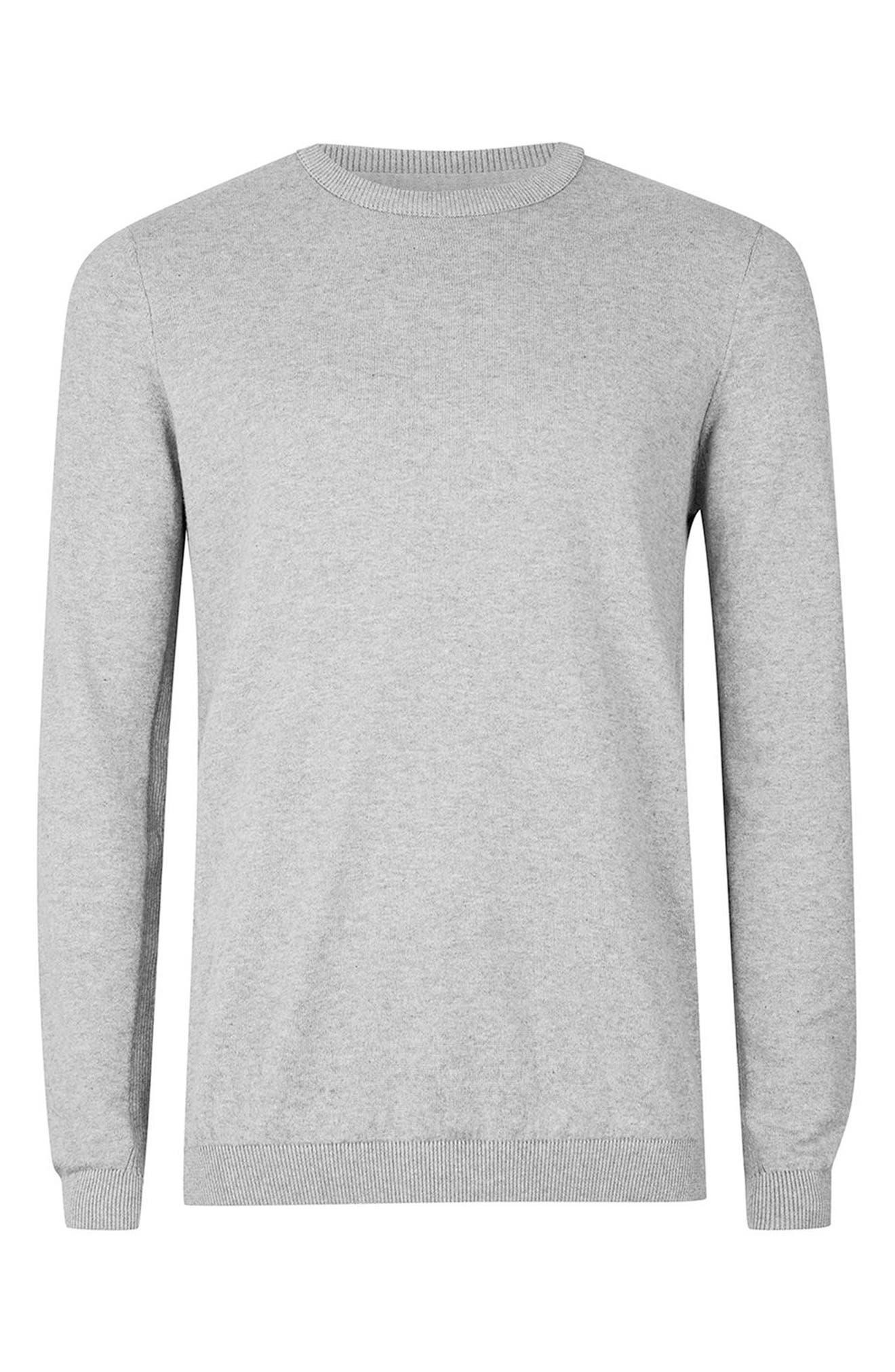 Side Rib Cotton Sweater,                             Alternate thumbnail 14, color,