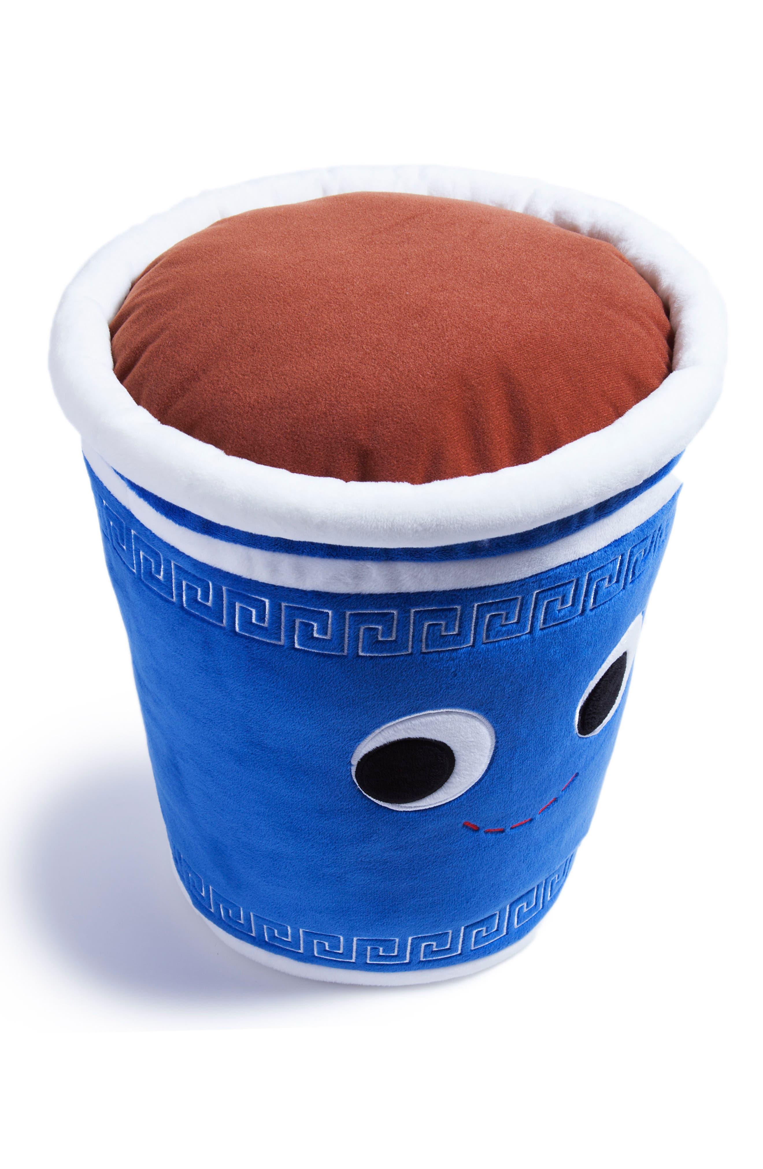 Yummy World Large George Greek Coffee Plush Toy,                             Alternate thumbnail 3, color,                             000