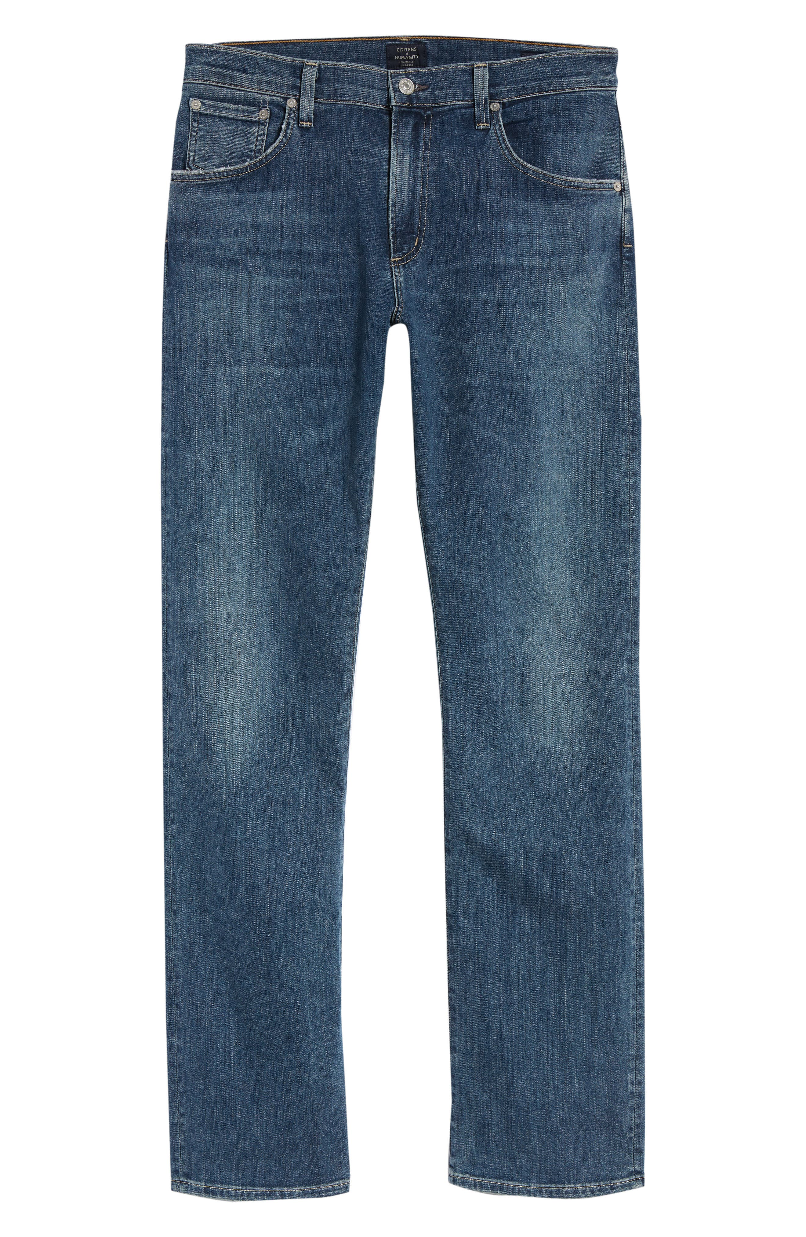 Gage Slim Straight Fit Jeans,                             Alternate thumbnail 6, color,                             427