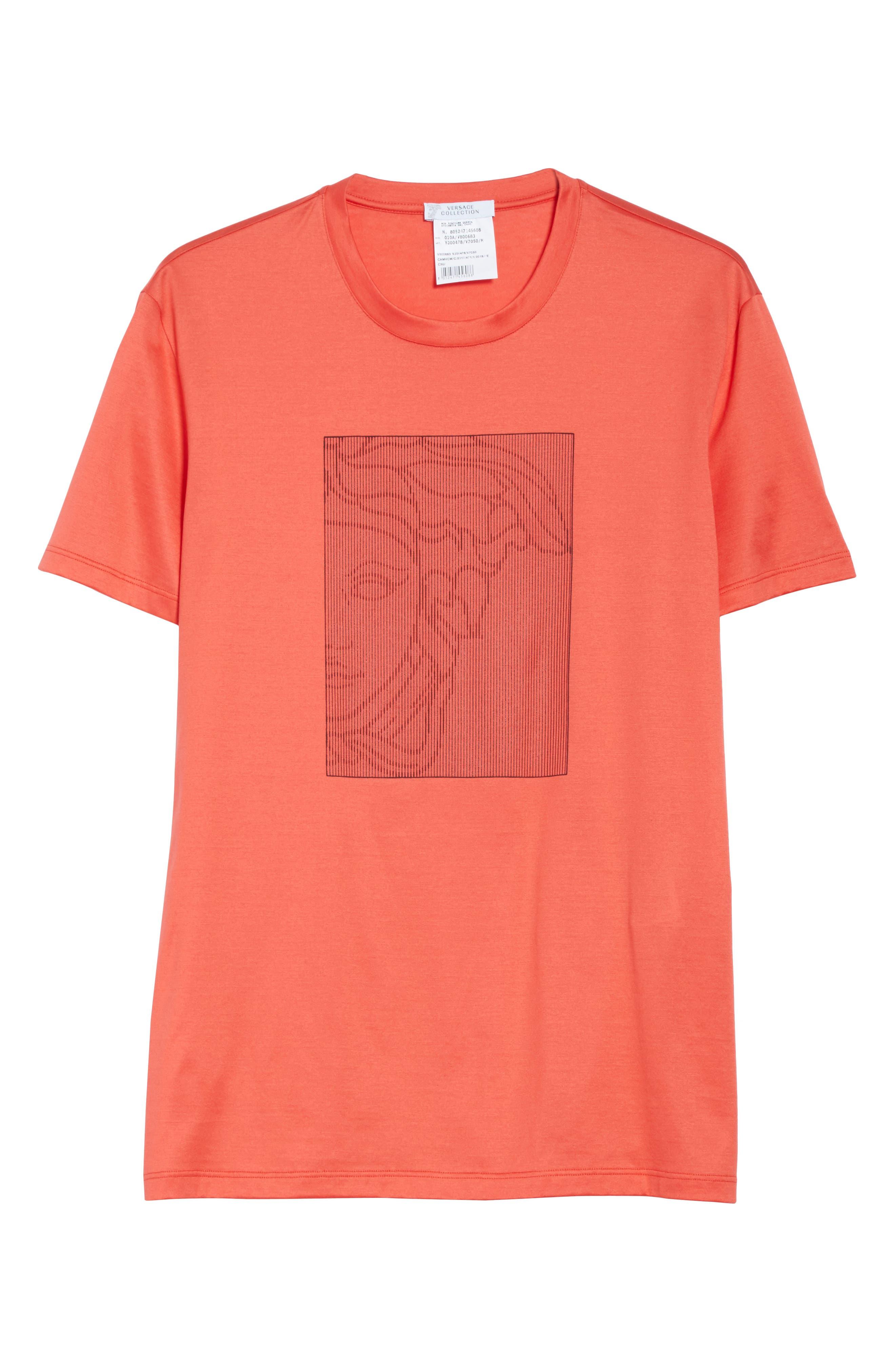 Barcode Medusa Graphic T-Shirt,                             Alternate thumbnail 6, color,                             600