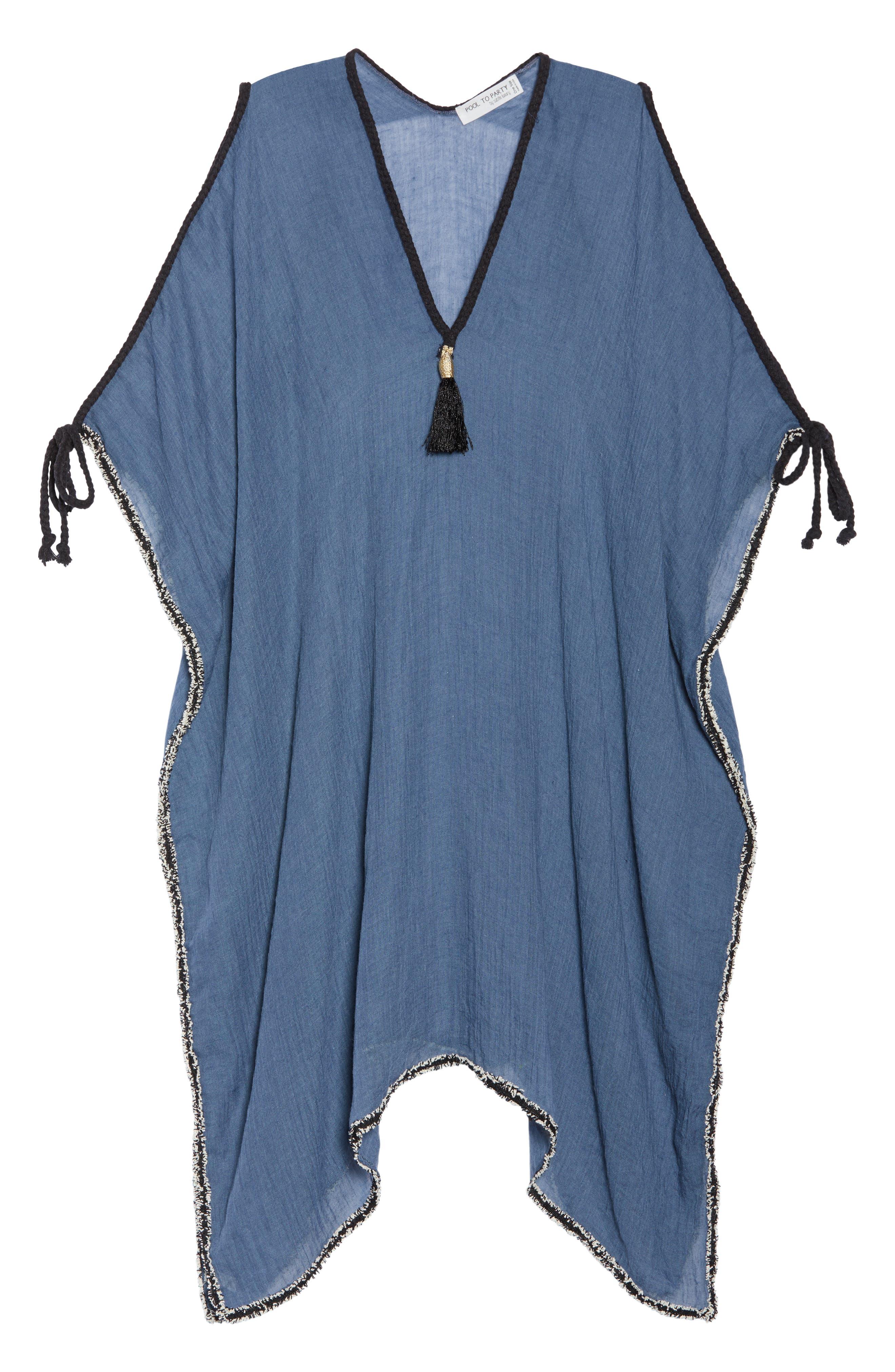 Cold Shoulder Cover-Up Dress,                             Alternate thumbnail 6, color,                             414