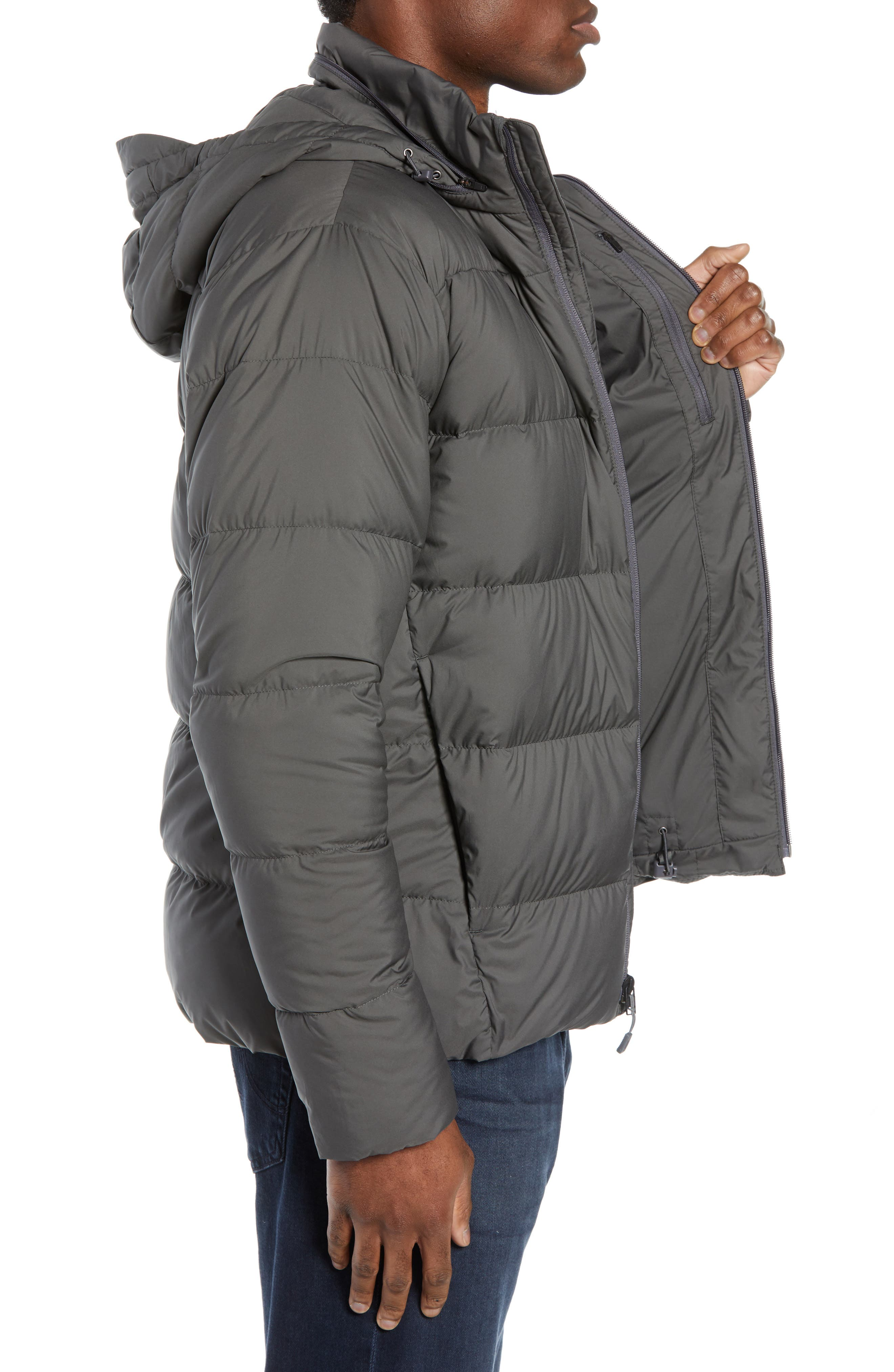 Silent Water Repellent 700 Fill Power Down Jacket,                             Alternate thumbnail 3, color,                             020