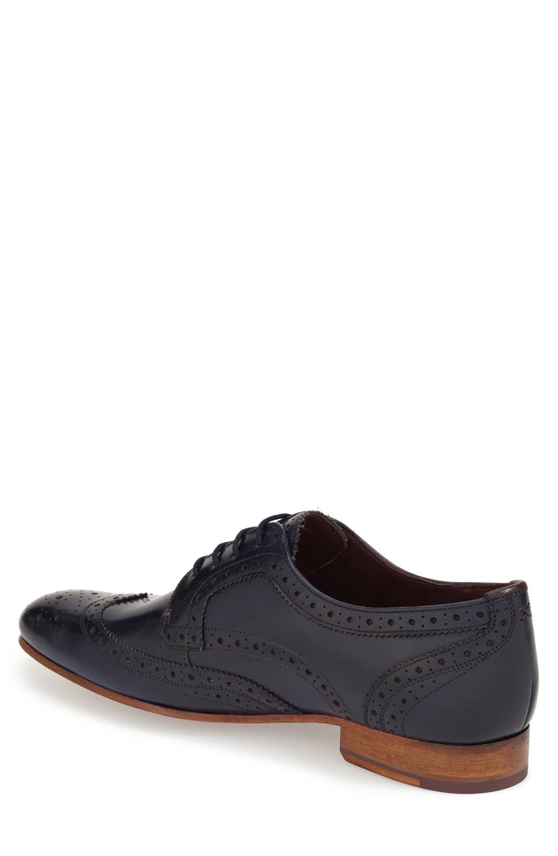 'Gryene' Wingtip Oxford,                             Alternate thumbnail 8, color,