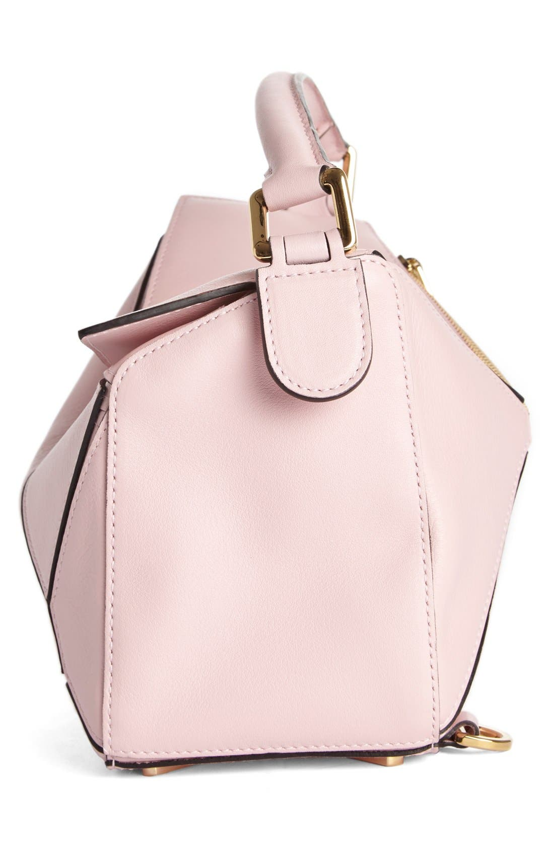 'Small Puzzle' Calfskin Leather Bag,                             Alternate thumbnail 32, color,