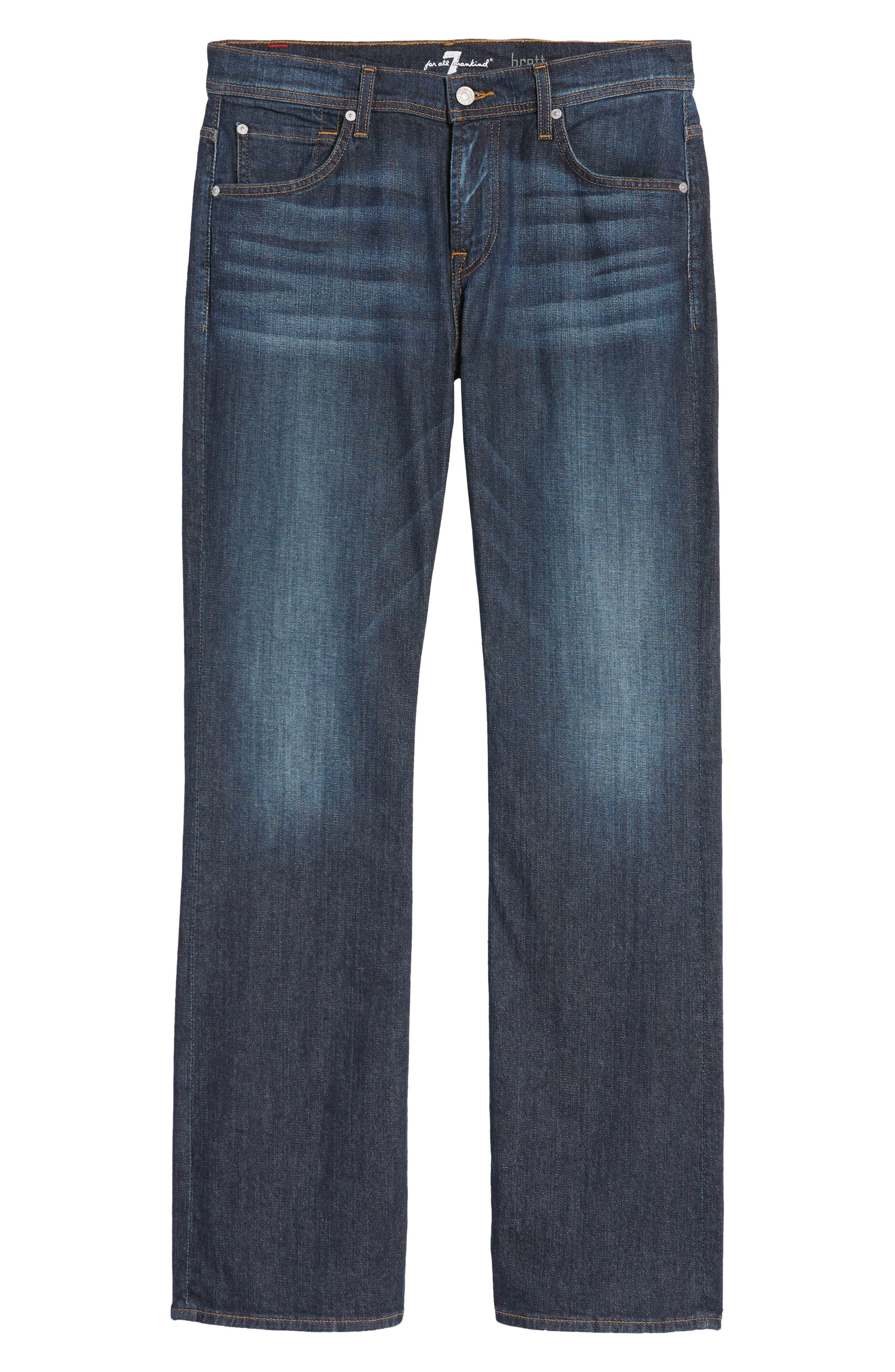 Brett Bootcut Jeans,                             Alternate thumbnail 6, color,                             402