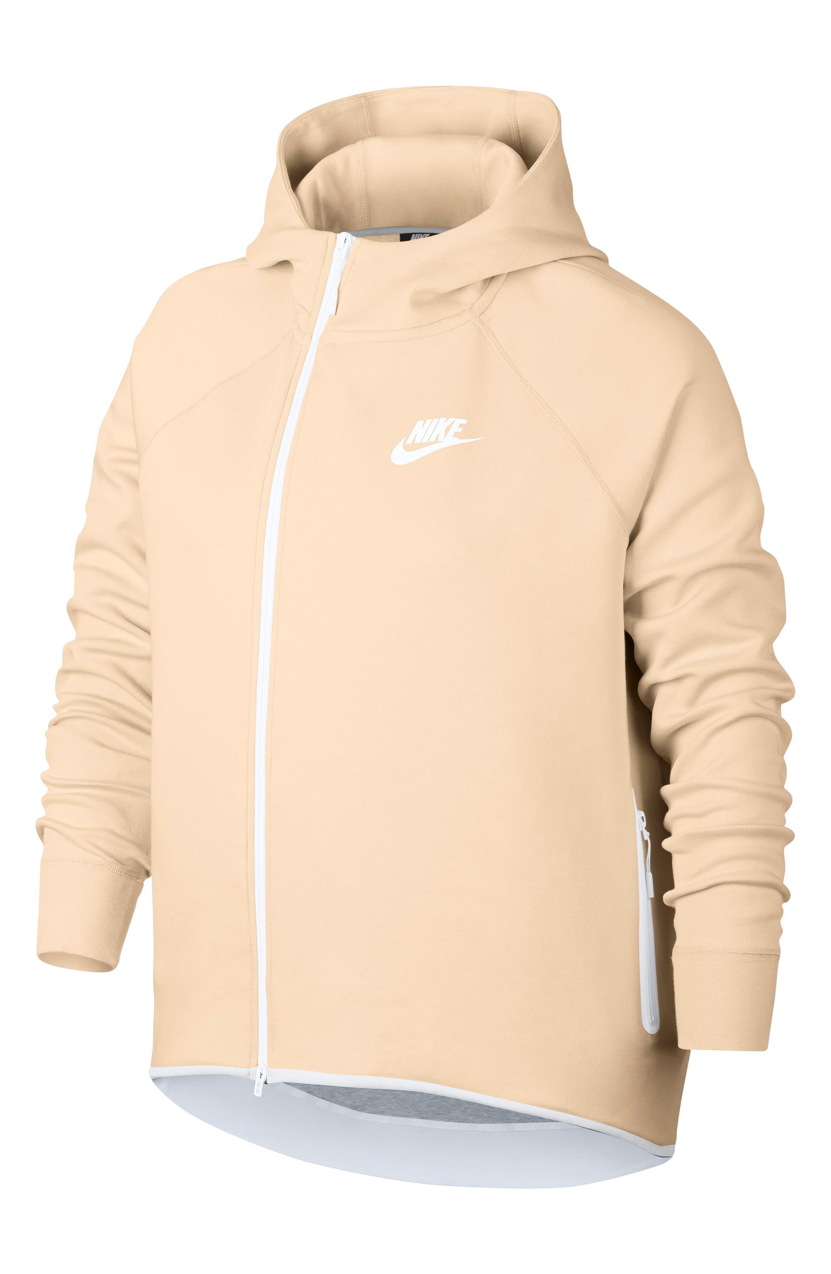 Plus Size Nike Sportswear Tech Fleece Cape Jacket
