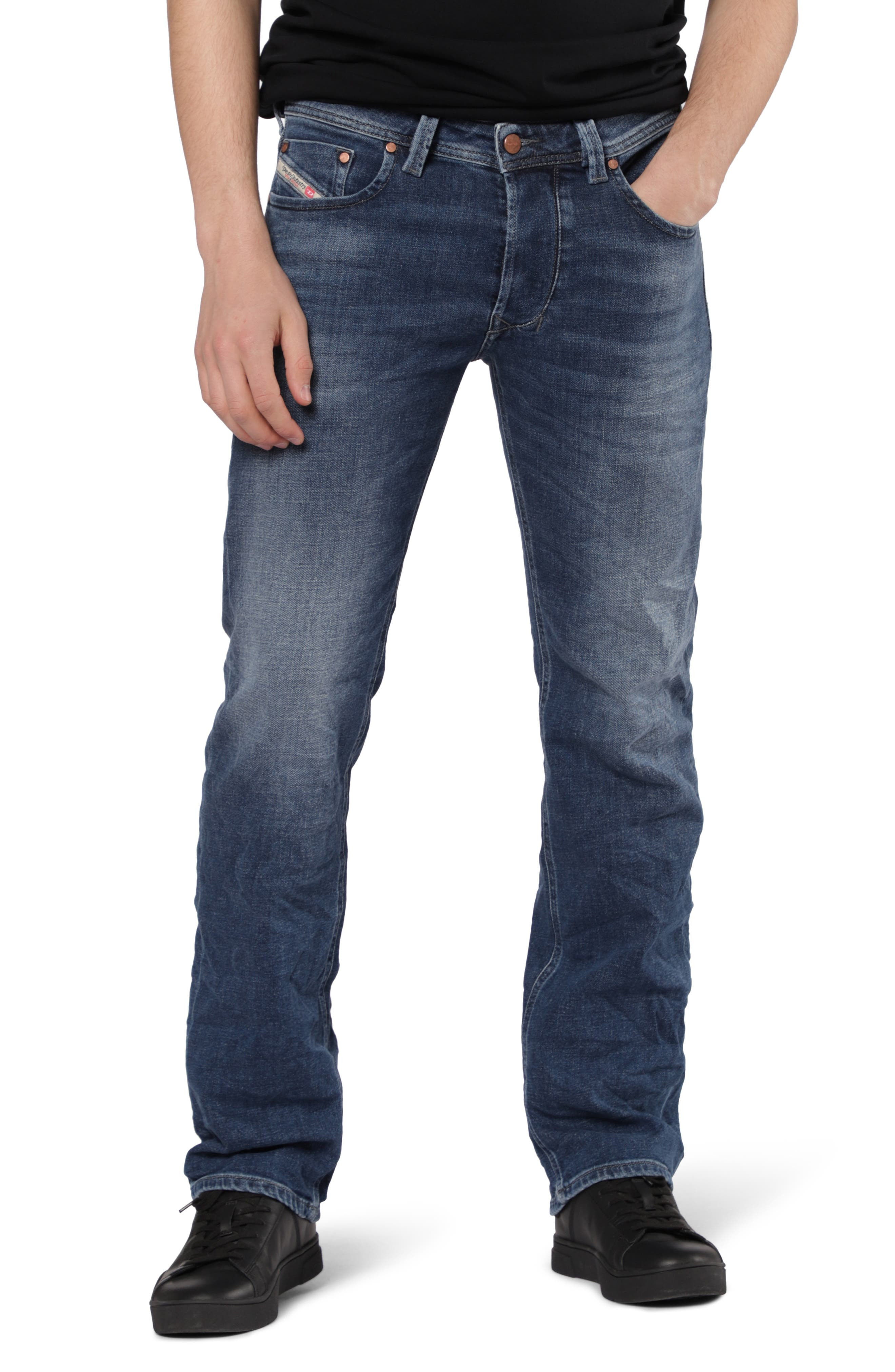 Larkee Relaxed Fit Jeans,                         Main,                         color, 400