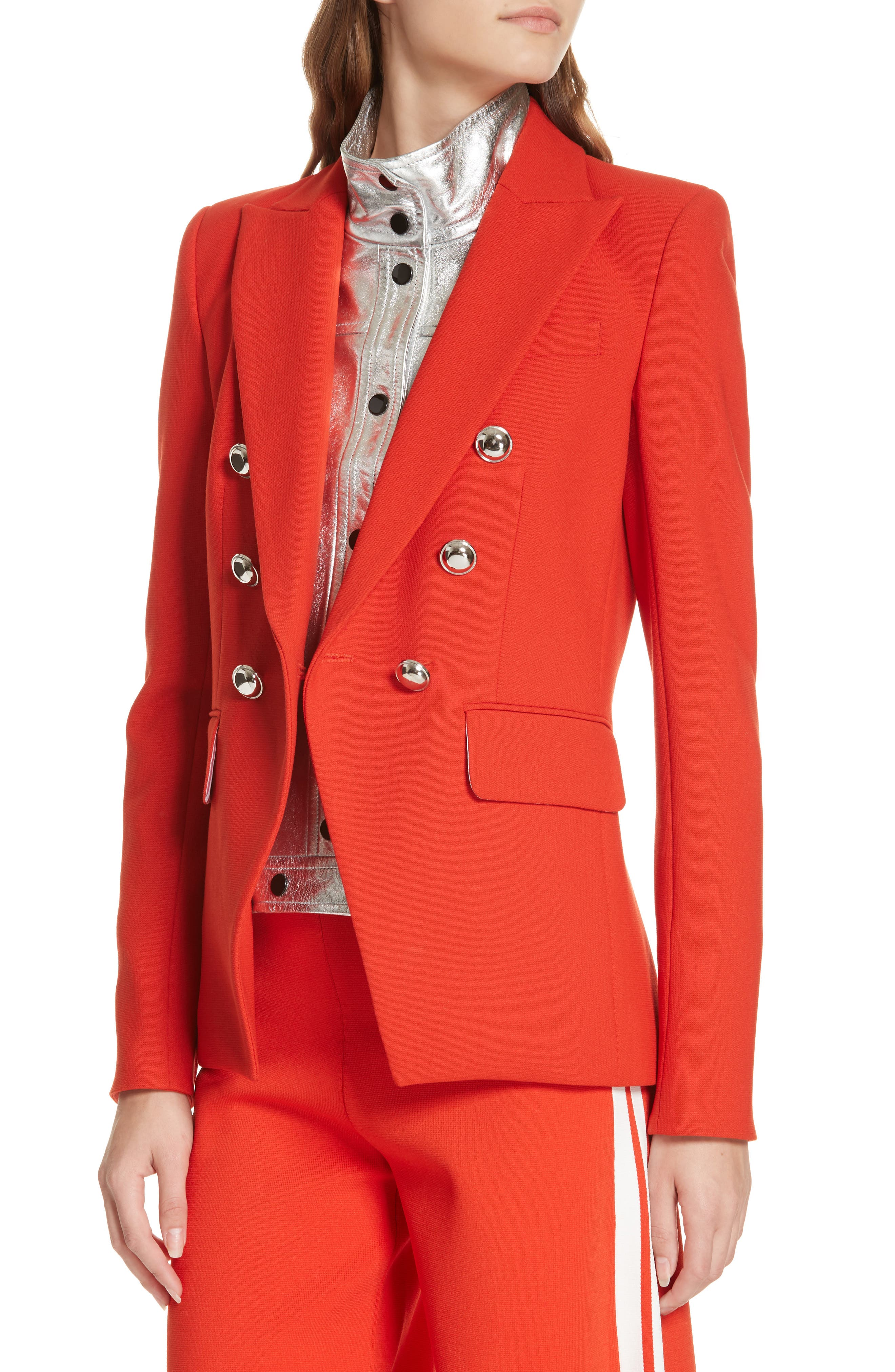 Miller Dickey Jacket,                             Alternate thumbnail 4, color,                             RED