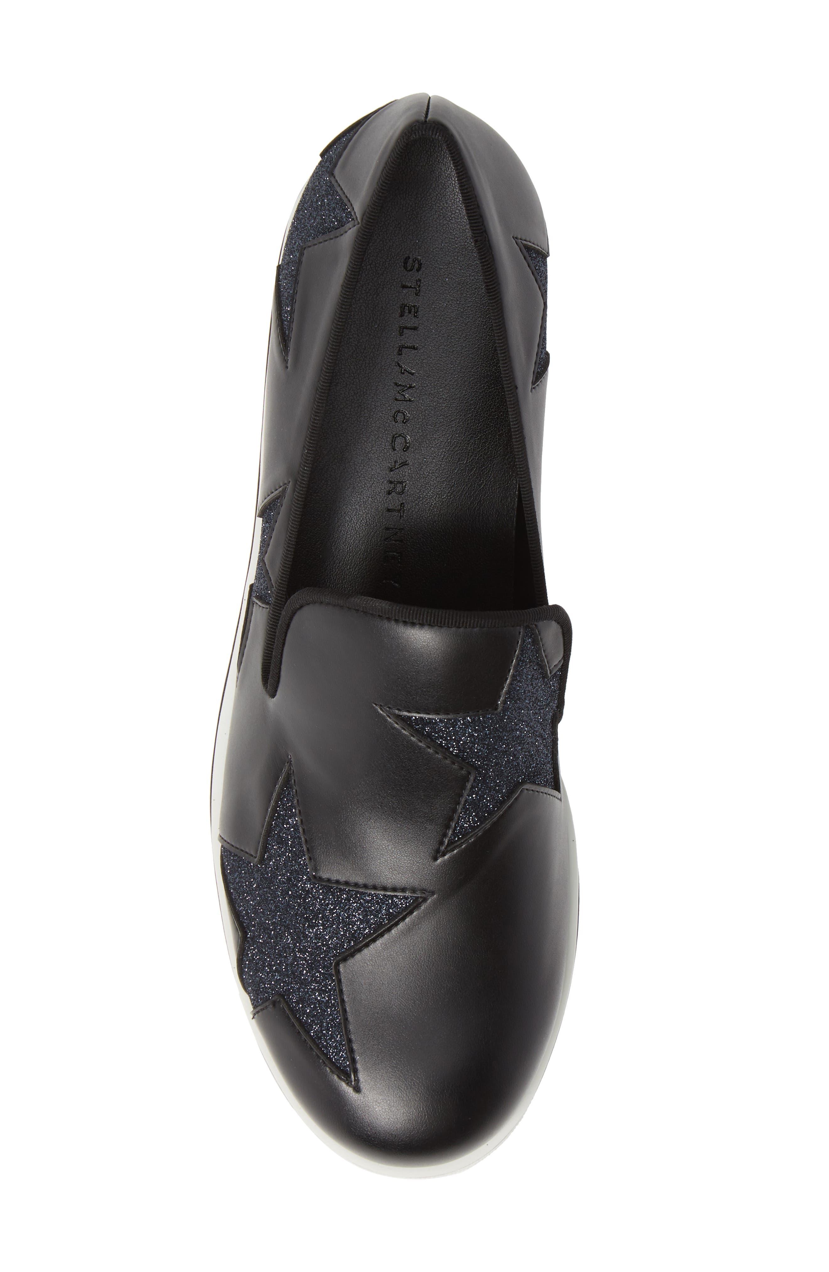 Binx Stars Slip-On Platform Sneaker,                             Alternate thumbnail 5, color,                             019