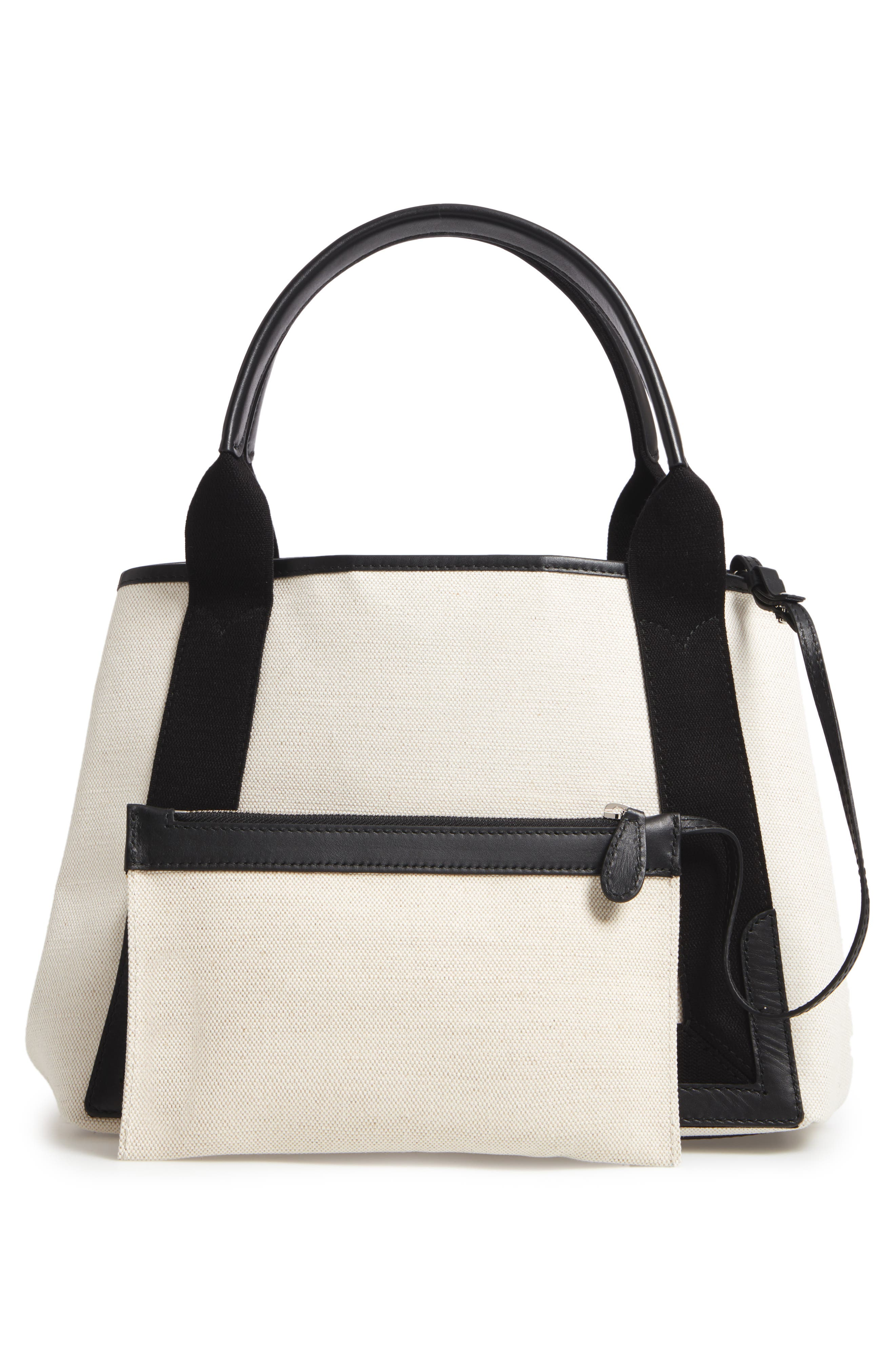 Small Cabas Canvas Tote,                             Alternate thumbnail 3, color,                             277