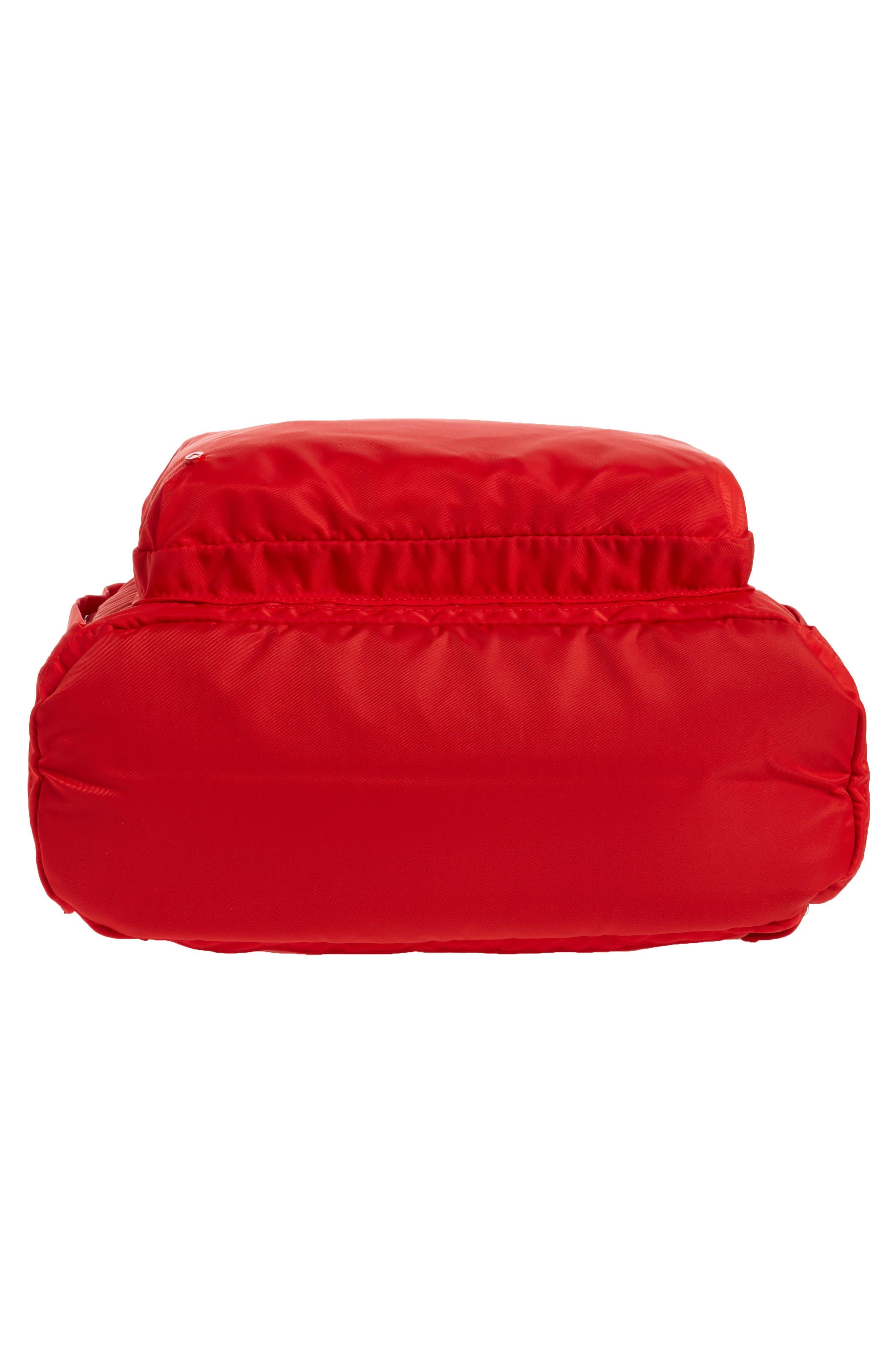 Heights Lorimer Nylon Backpack,                             Alternate thumbnail 6, color,                             RED