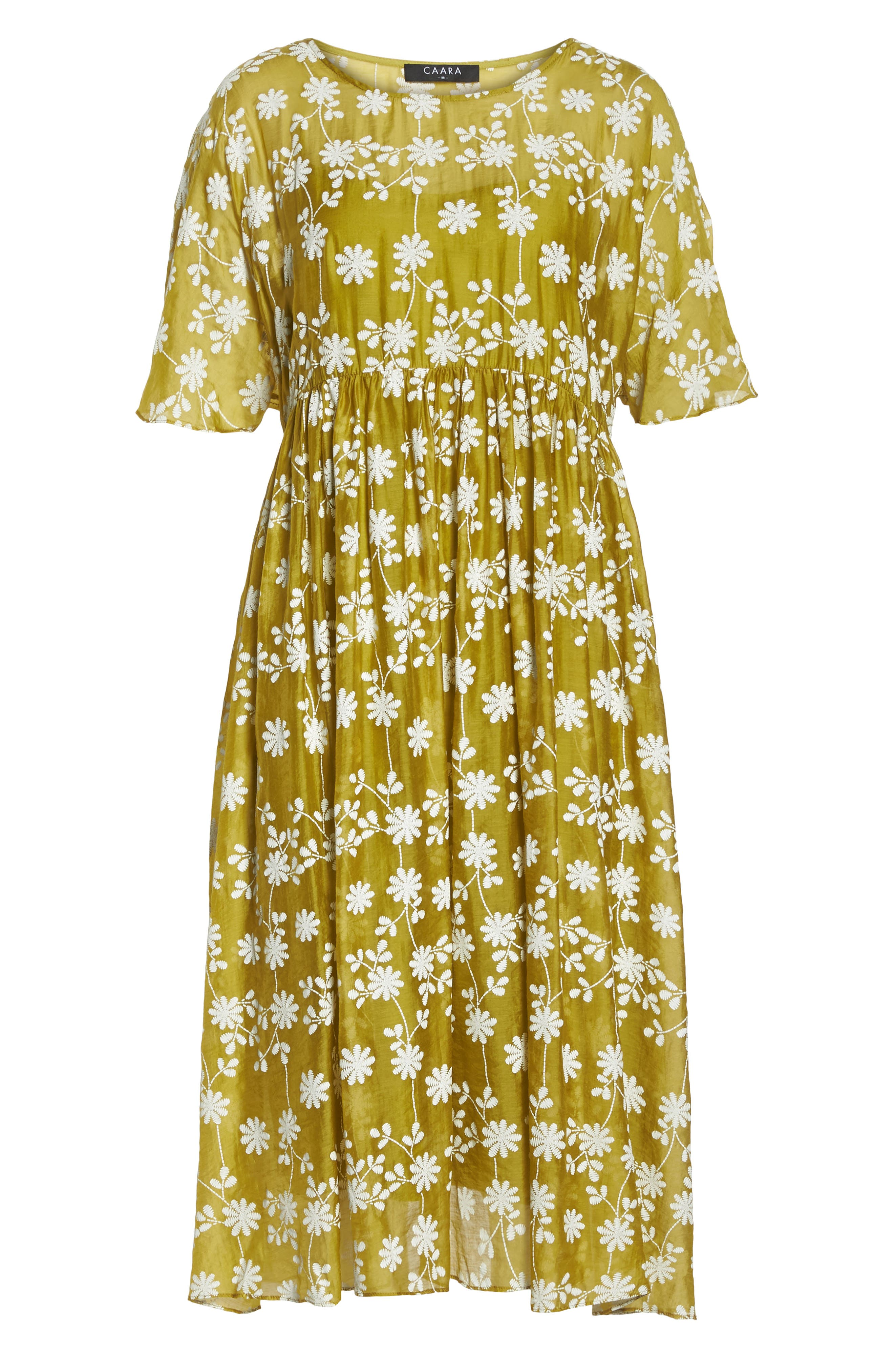 Daisy Picking Floral Dress,                             Alternate thumbnail 7, color,                             700