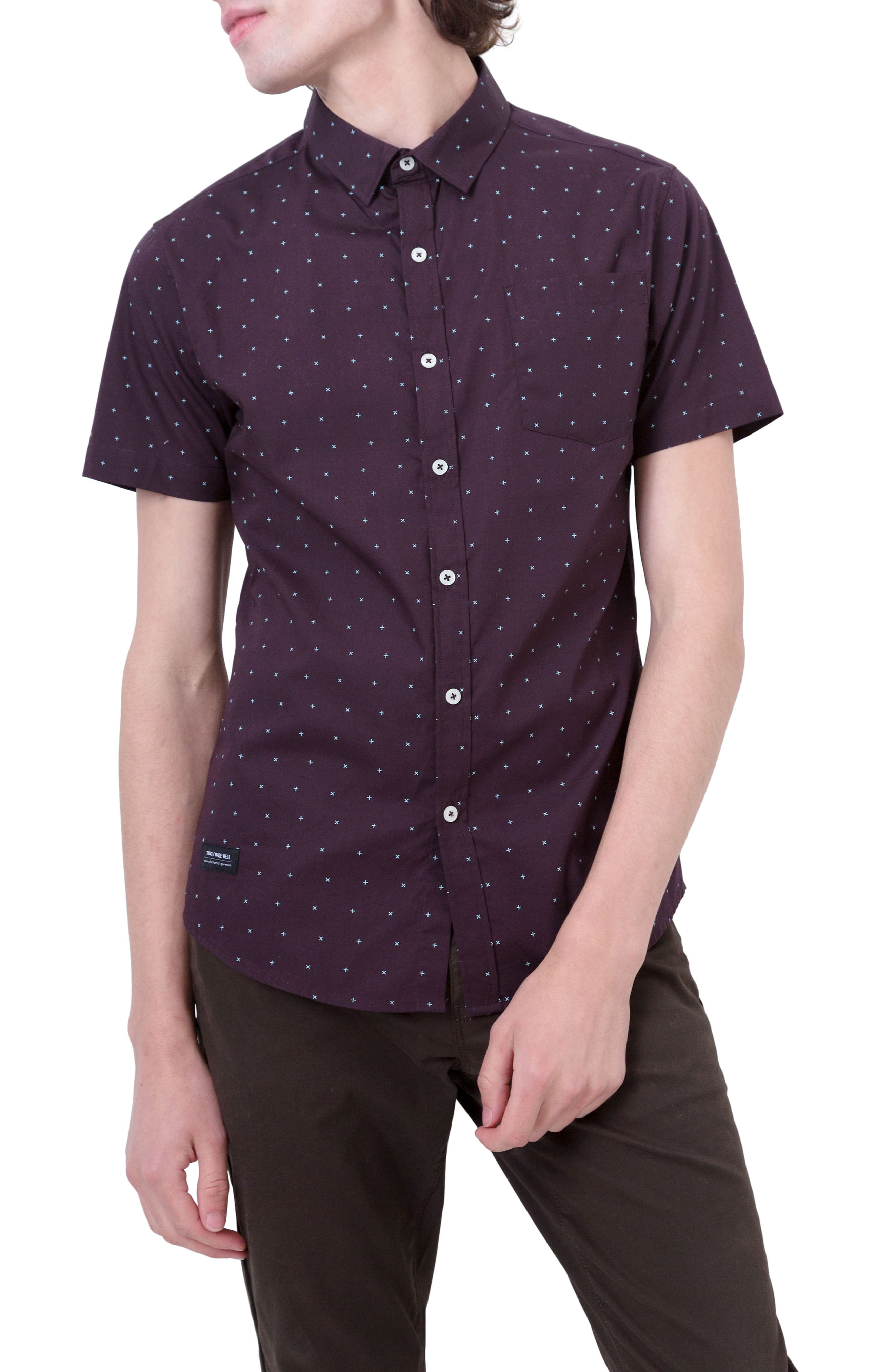 Hit Parade Woven Shirt,                             Main thumbnail 1, color,                             930