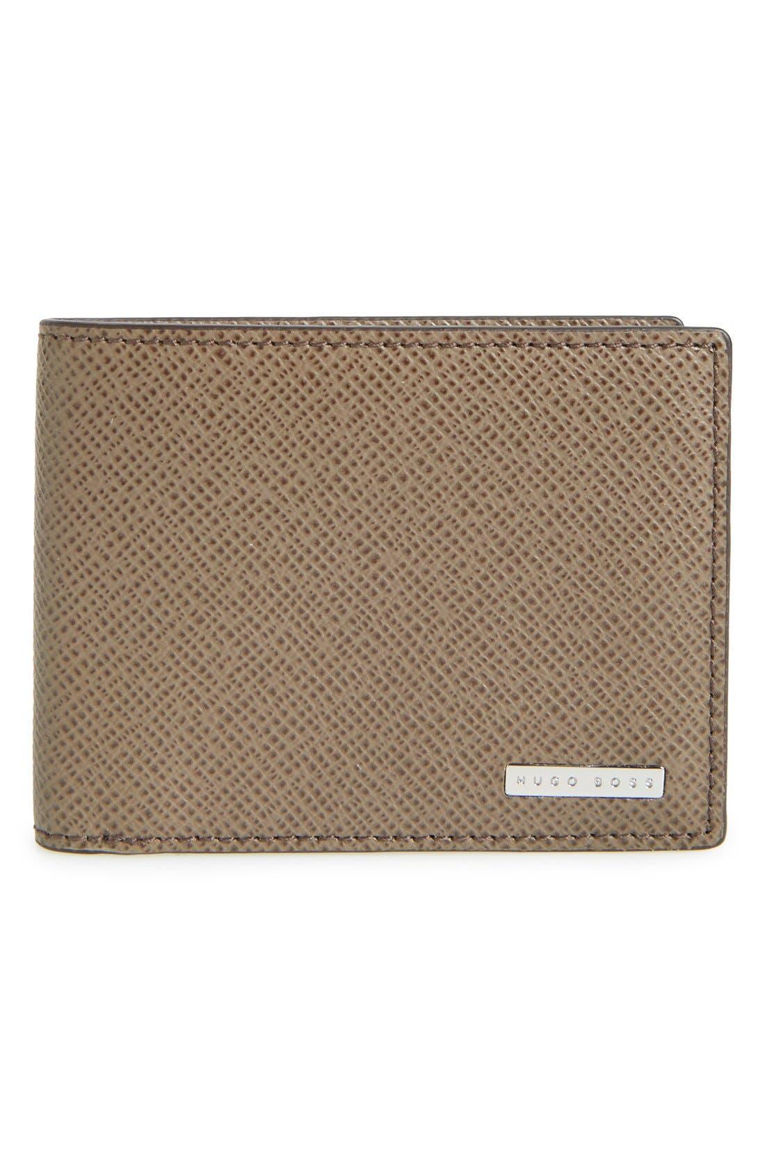'Signature' Bifold Wallet,                             Main thumbnail 2, color,