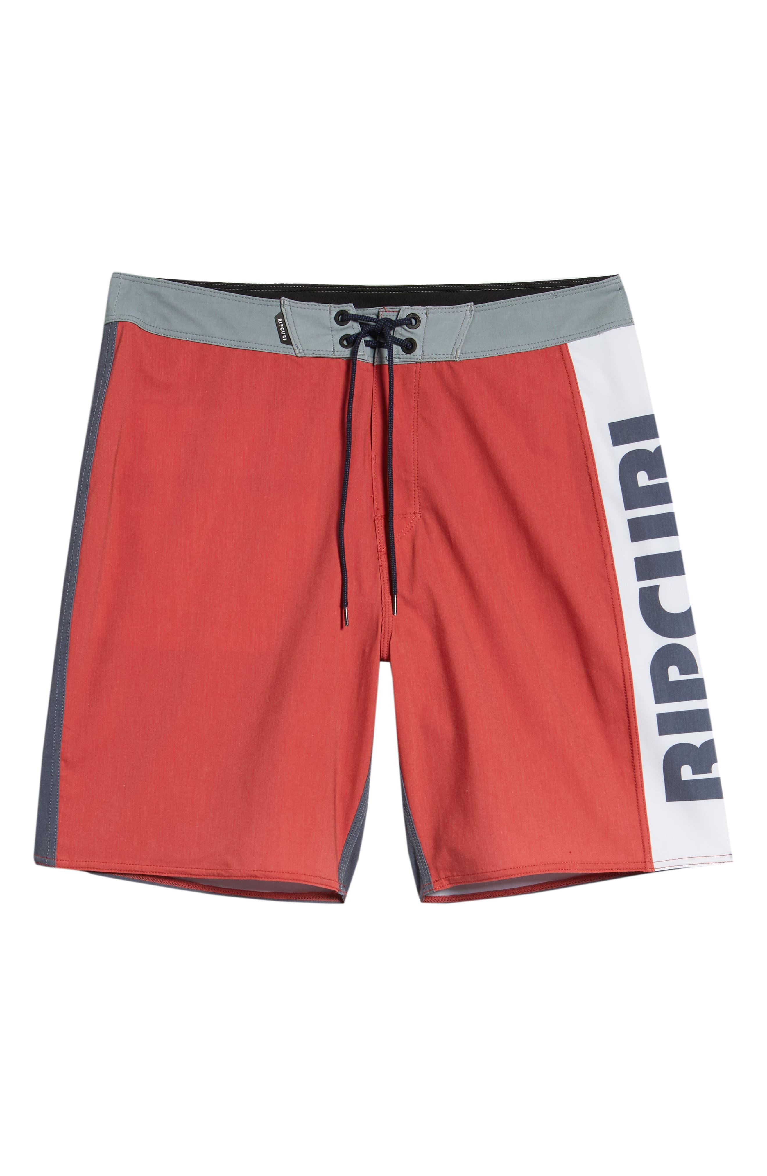 Mirage Owen Stretch Board Shorts,                             Alternate thumbnail 6, color,                             600