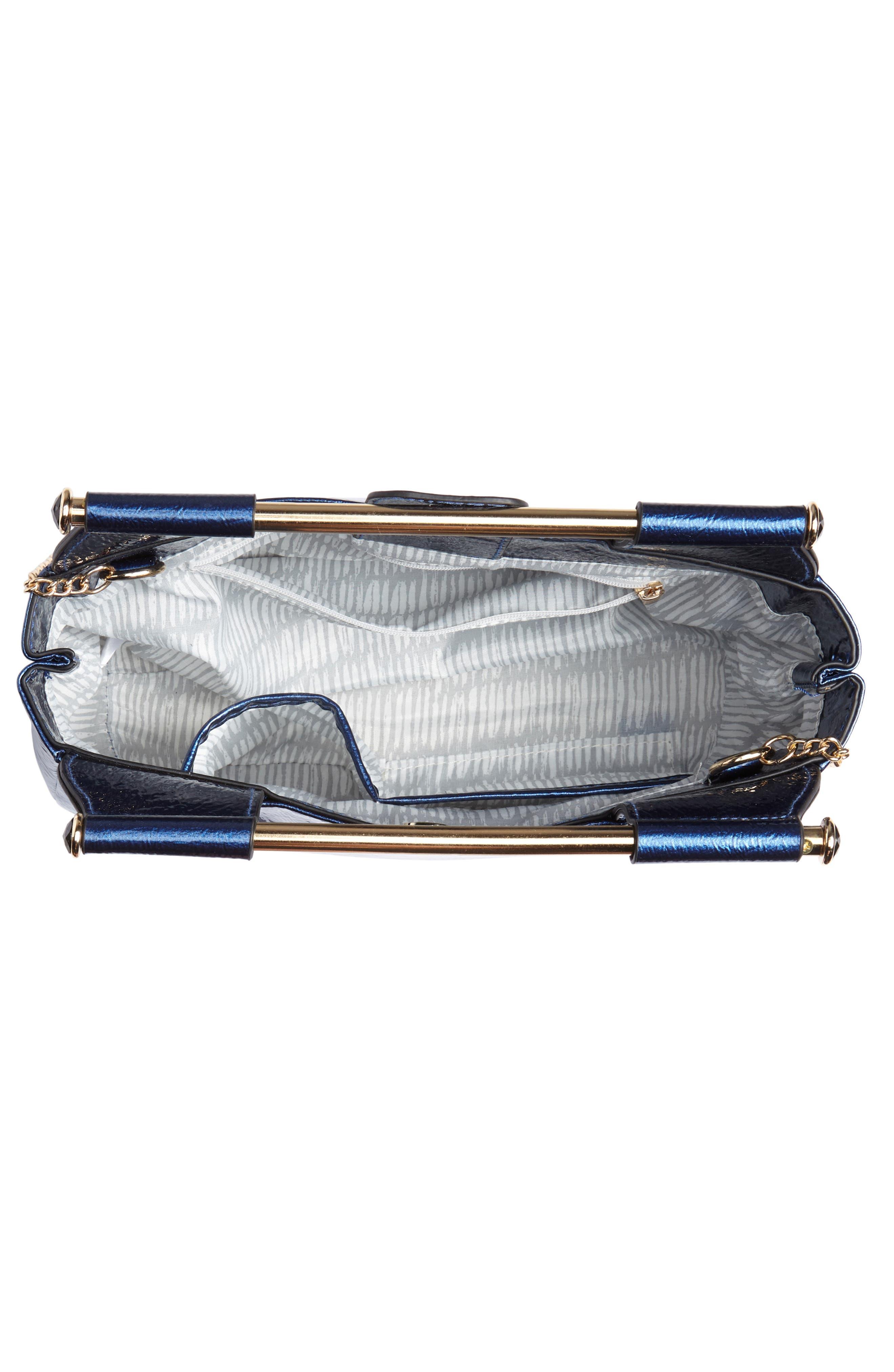 Patent Leather Crossbody Bag,                             Alternate thumbnail 4, color,                             400