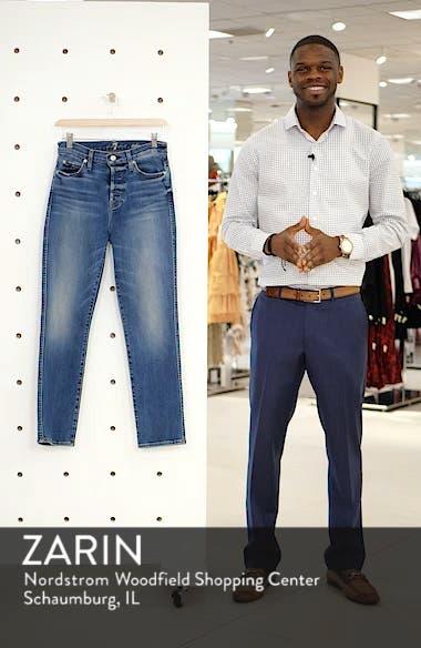 Edie High Waist Ankle Straight Leg Jeans, sales video thumbnail