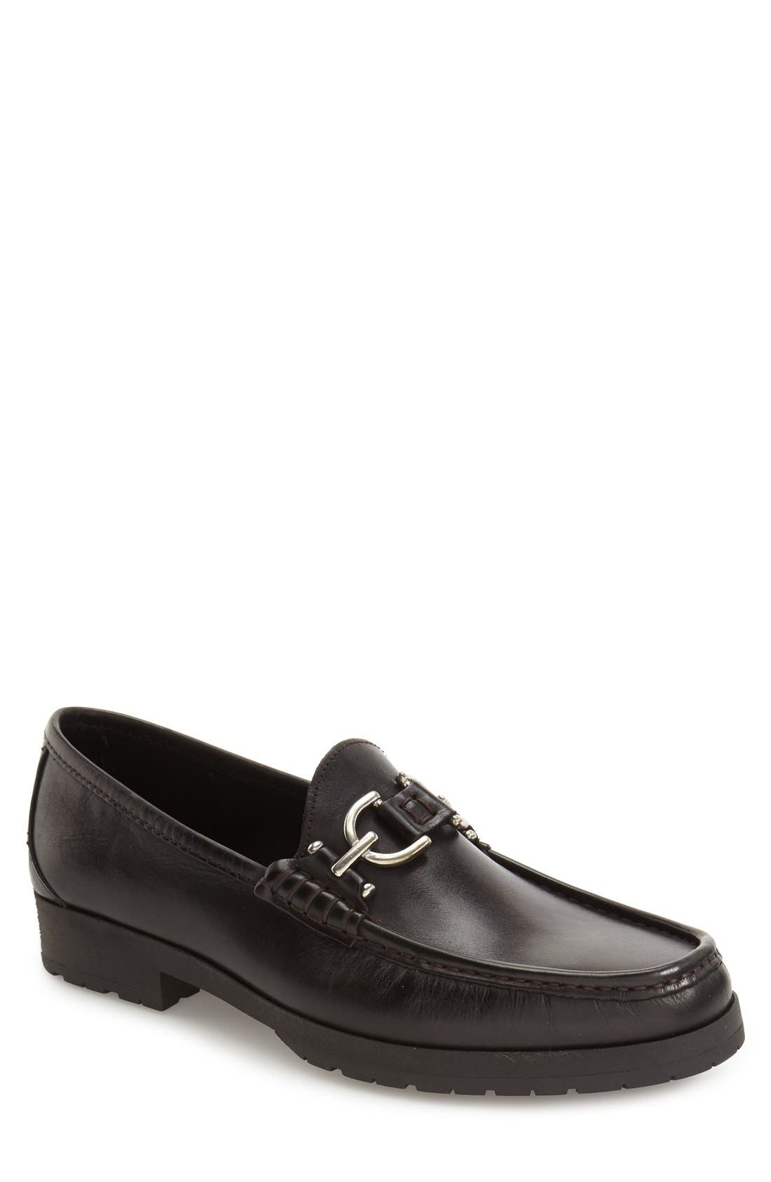 Lelio Bit Loafer,                             Alternate thumbnail 5, color,                             001