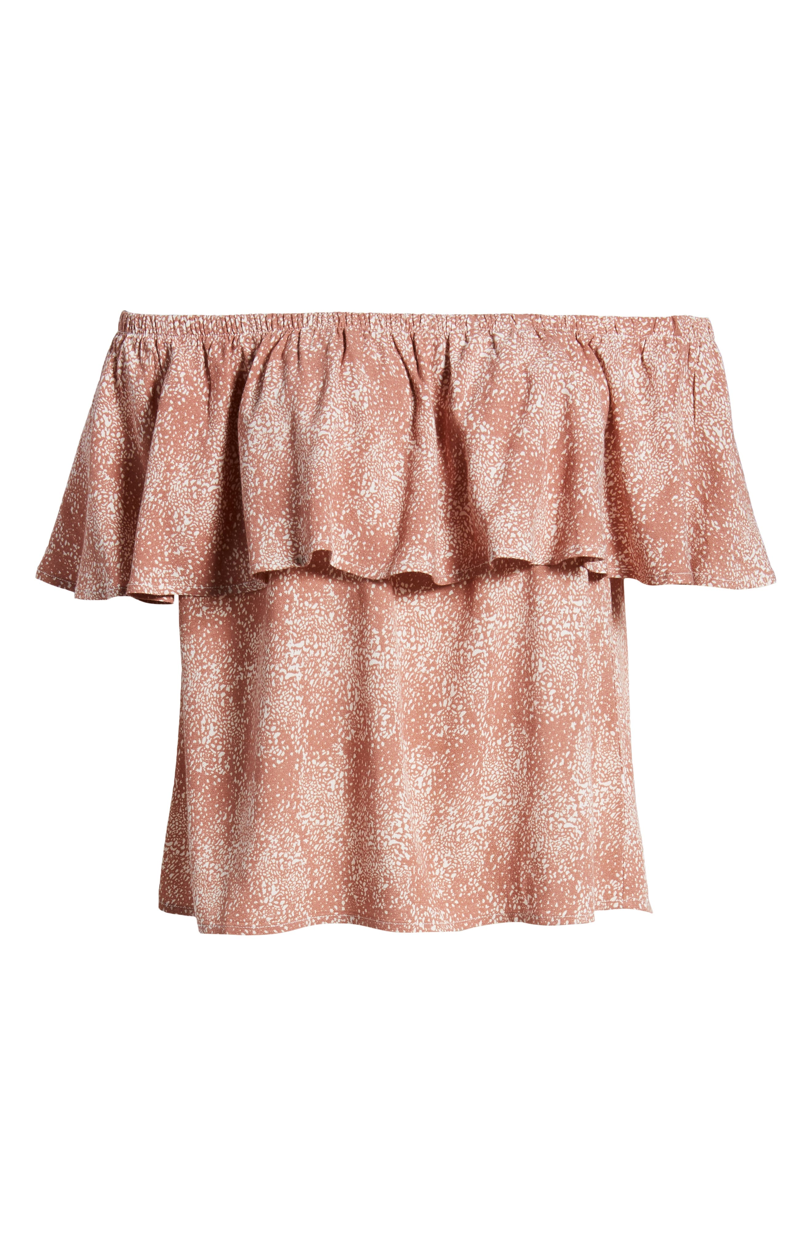 Mary Off the Shoulder Top,                             Alternate thumbnail 13, color,